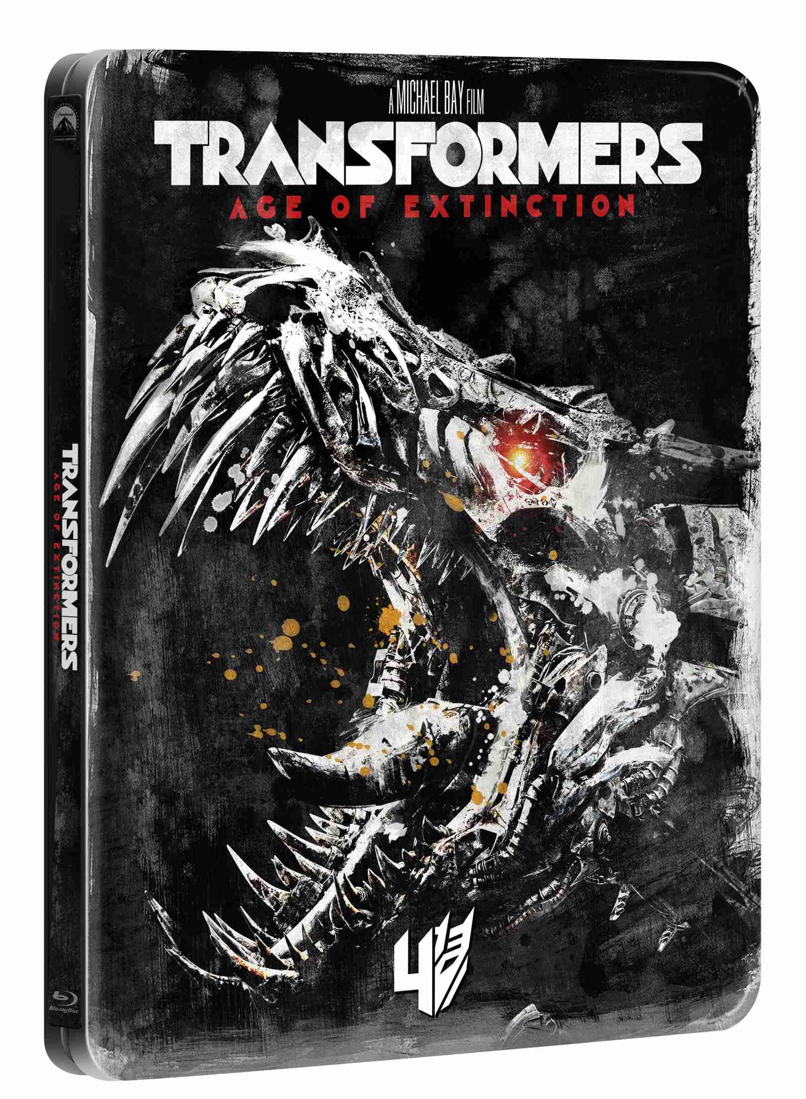 TRANSFORMERS: ZÁNIK (Edice 10 let) - Blu-ray STEELBOOK
