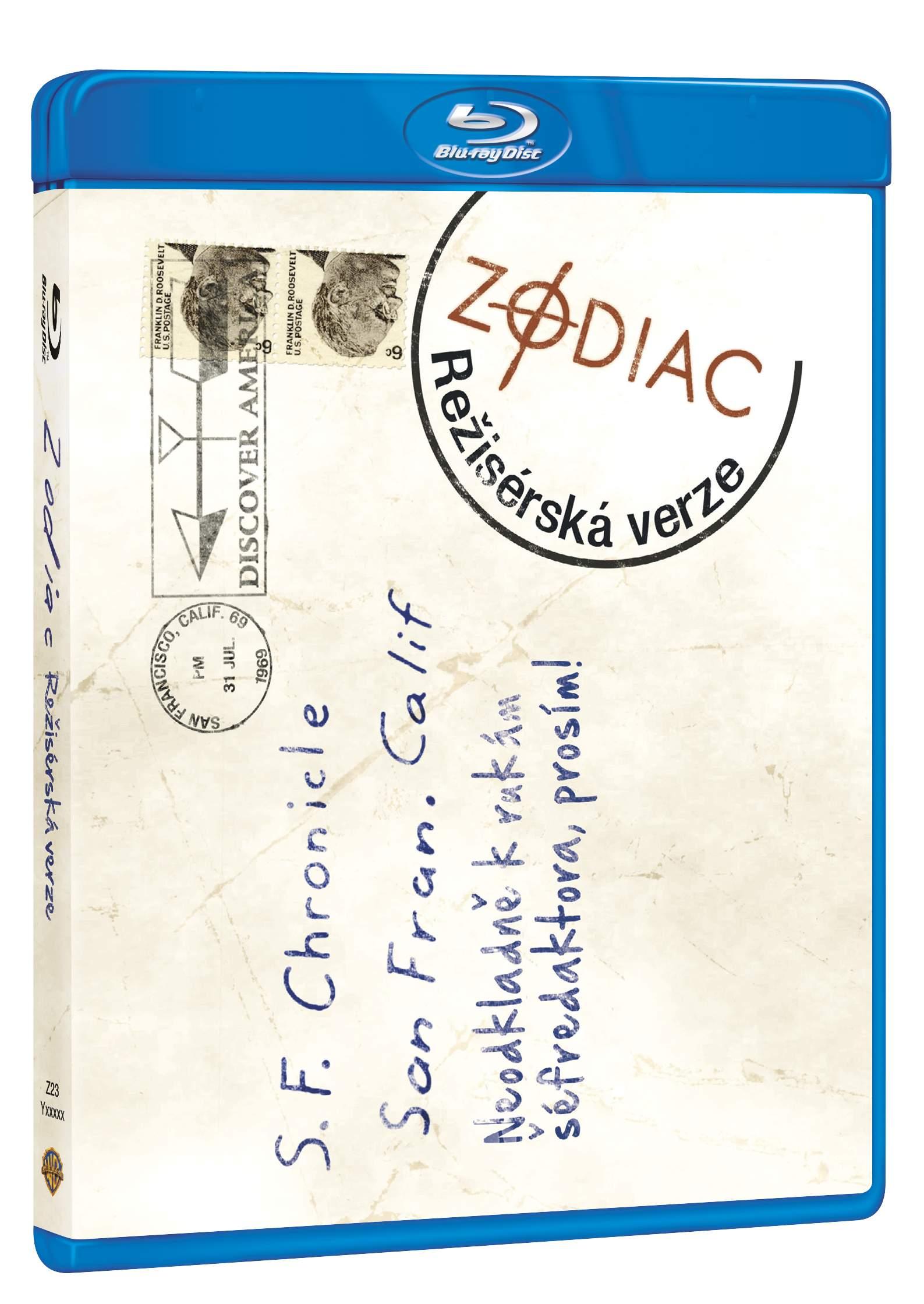 ZODIAC (Režisérská verze) - Blu-ray