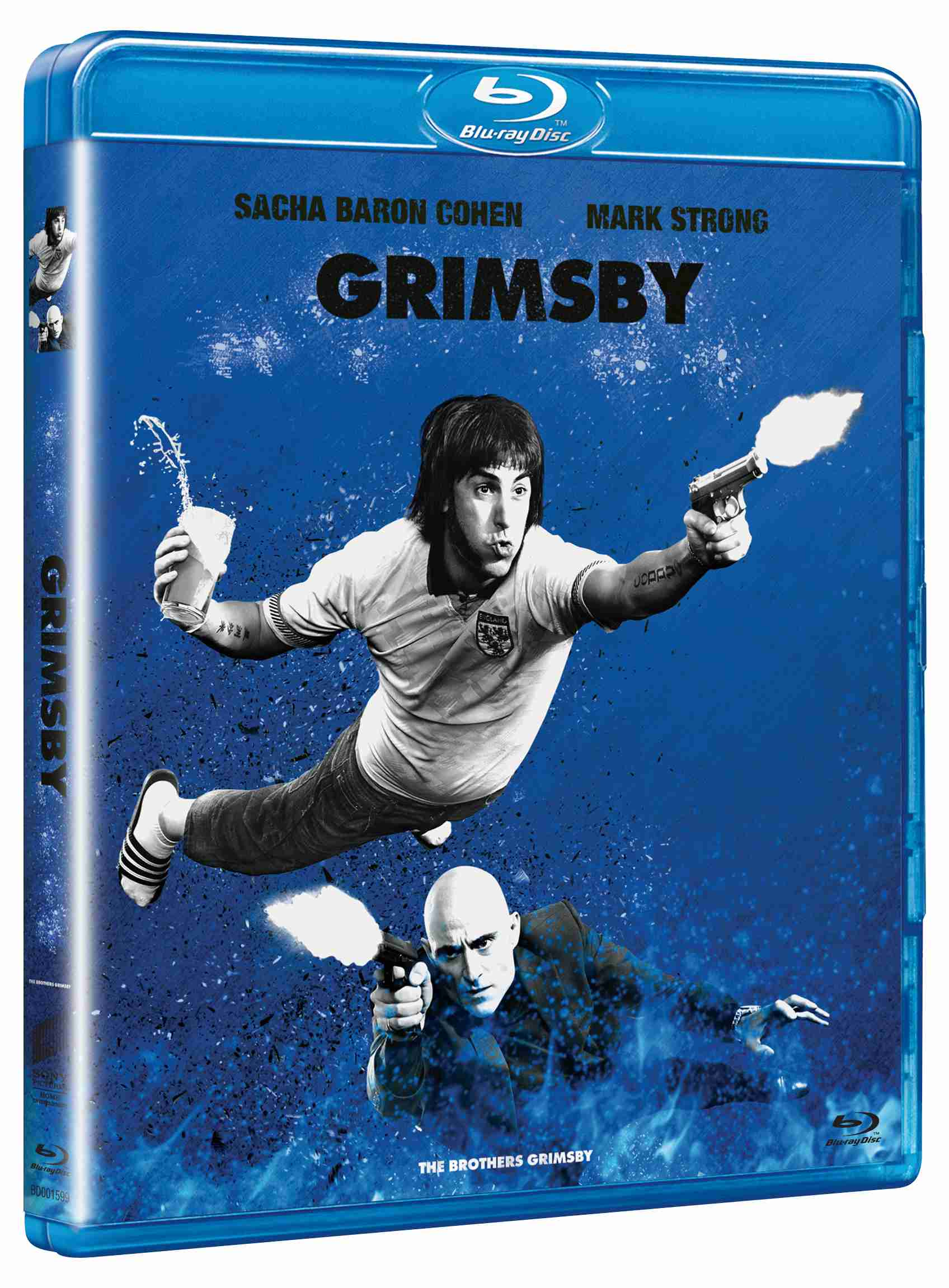 GRIMSBY (Big Face) - Blu-ray