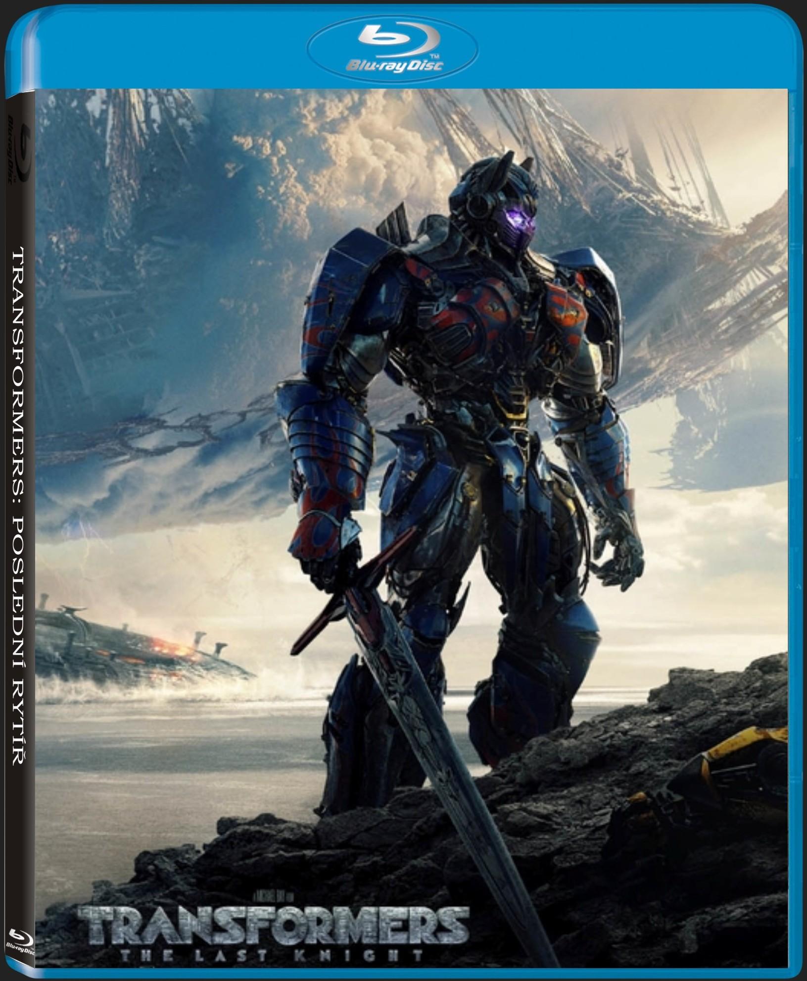 TRANSFORMERS: POSLEDNÍ RYTÍŘ - Blu-ray