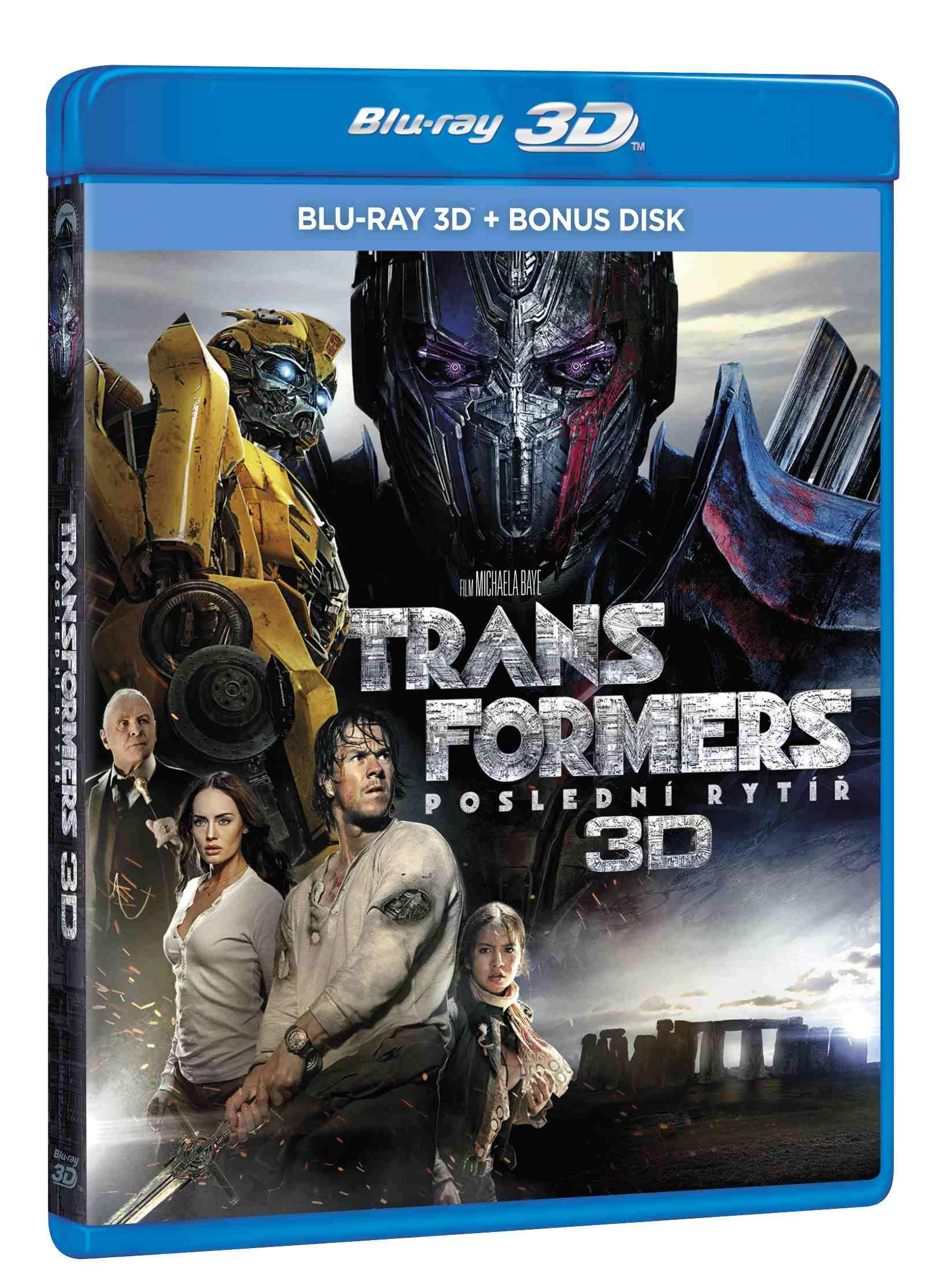 Transformers: Poslední rytíř - Blu-ray 3D + bonusový disk