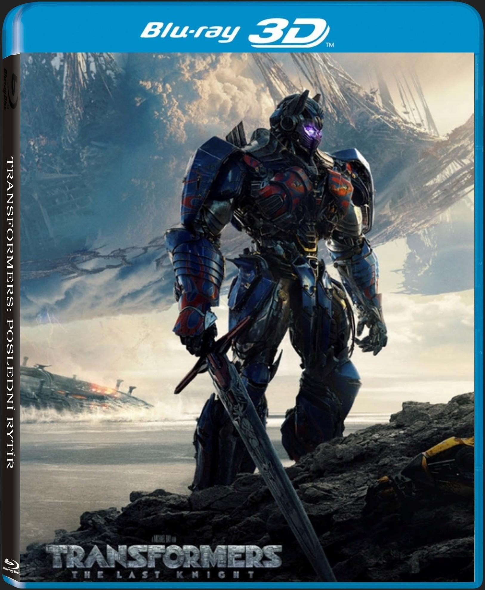 TRANSFORMERS: POSLEDNÍ RYTÍŘ - Blu-ray 3D + 2D
