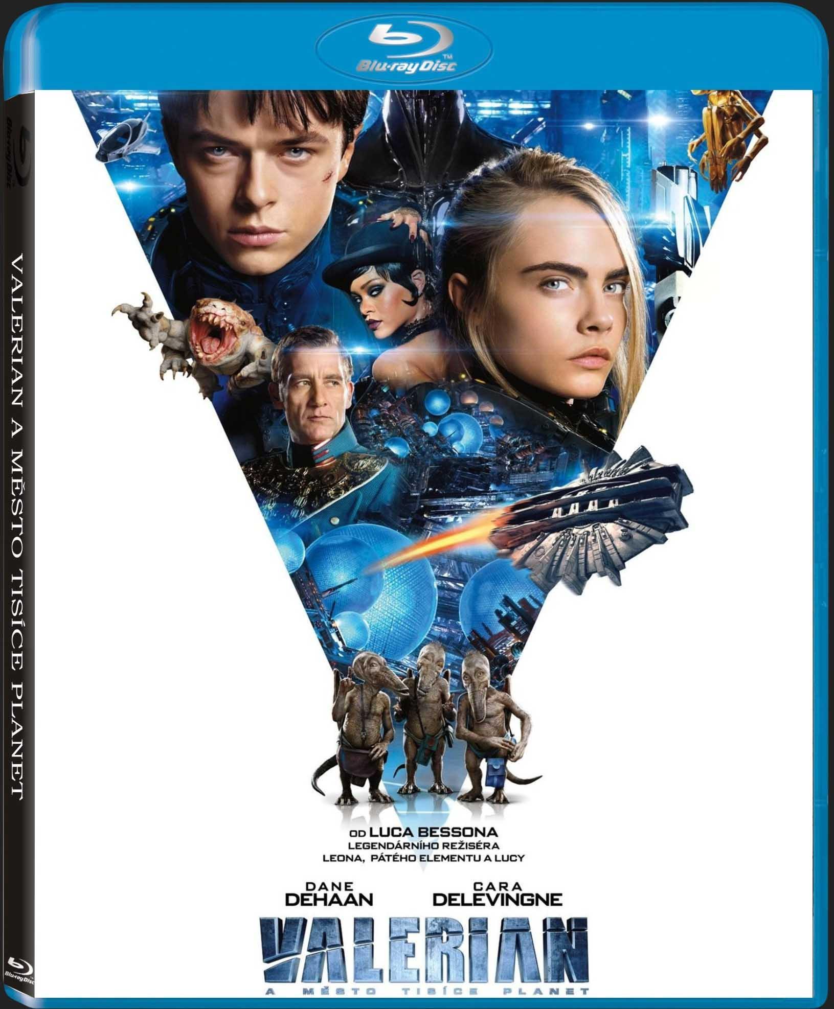 VALERIAN A MĚSTO TISÍCE PLANET - Blu-ray