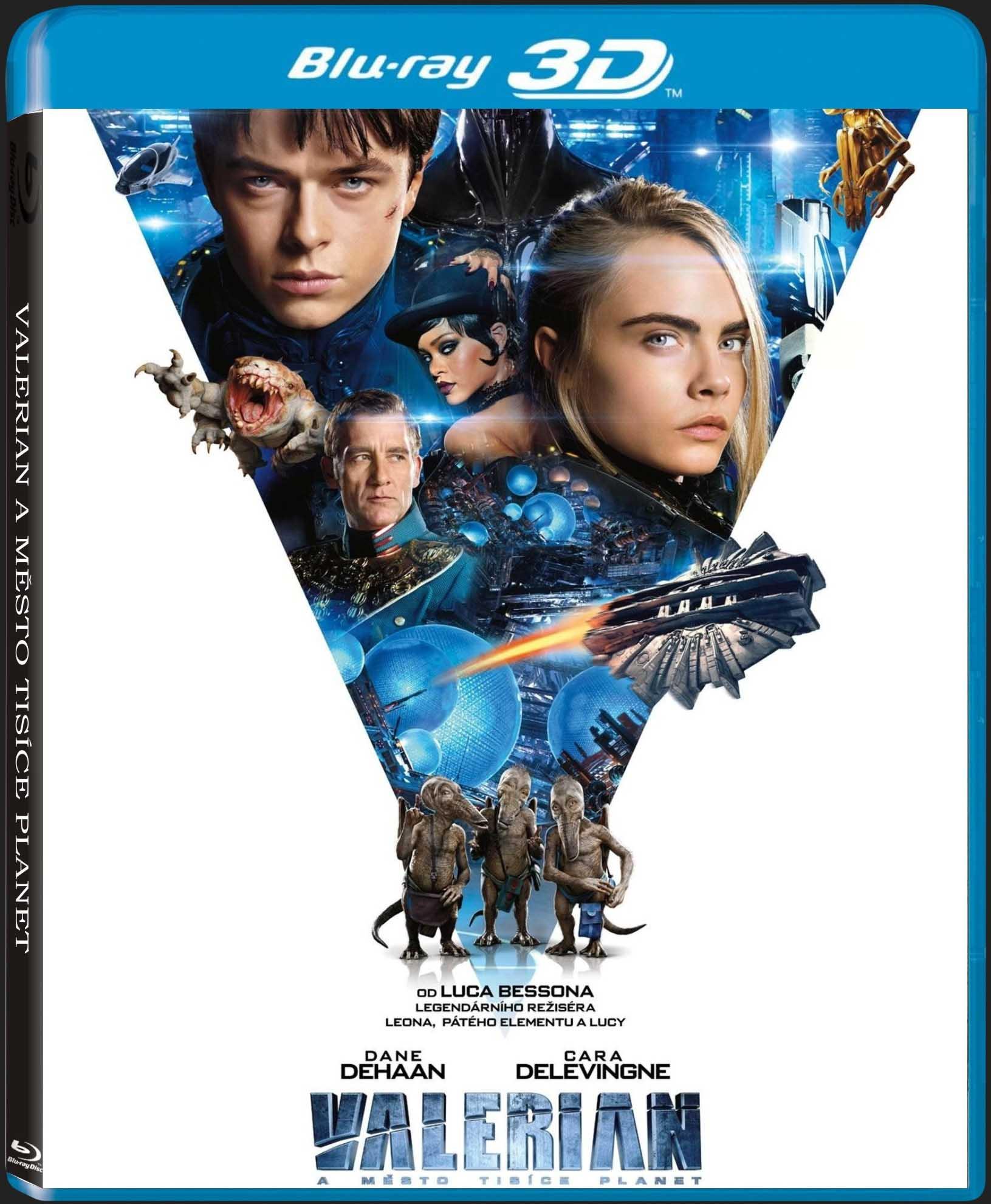 VALERIAN A MĚSTO TISÍCE PLANET - Blu-ray 3D + 2D
