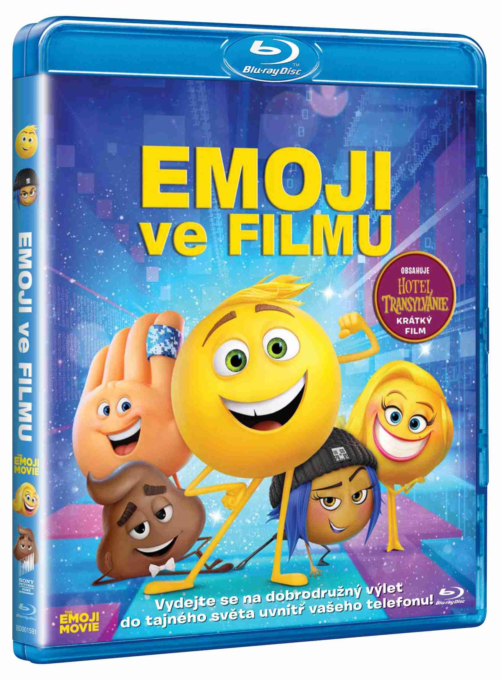 EMOJI VE FILMU - Blu-ray