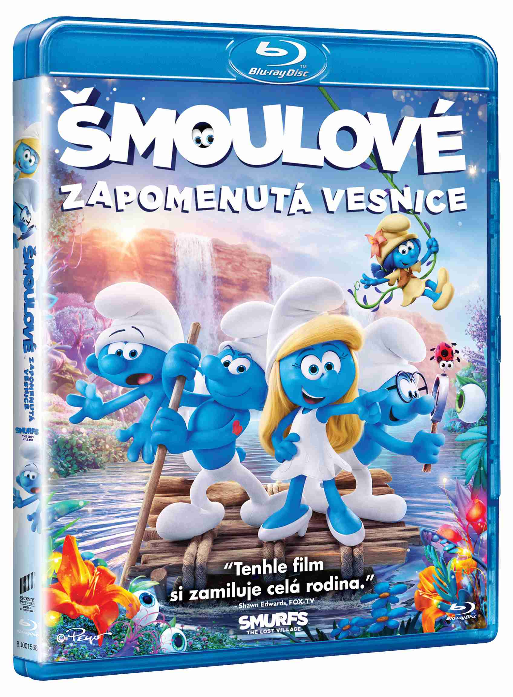 ŠMOULOVÉ: ZAPOMENUTÁ VESNICE - Blu-ray