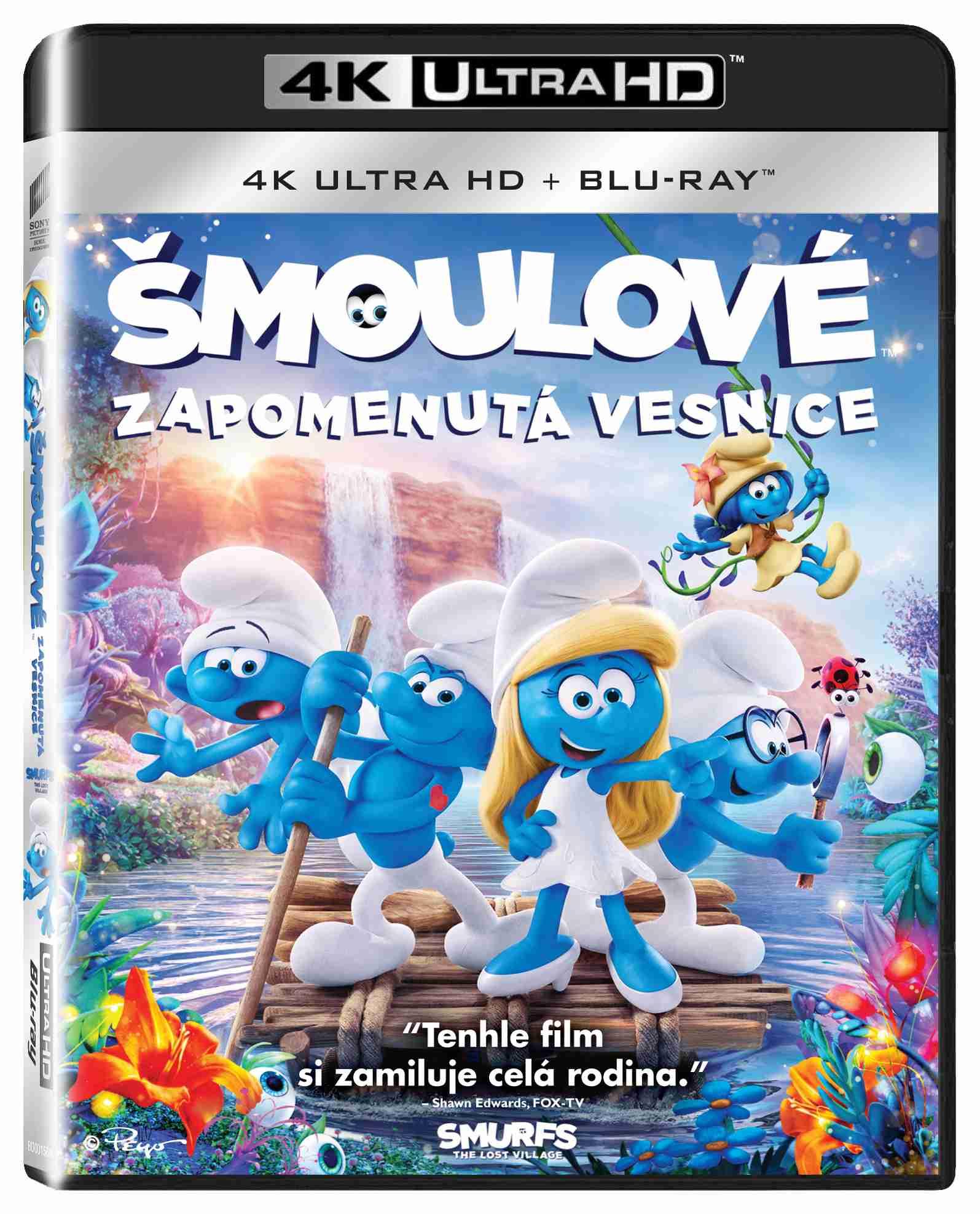 ŠMOULOVÉ: ZAPOMENUTÁ VESNICE (4K ULTRA HD) - UHD Blu-ray + Blu-ray (2 BD)
