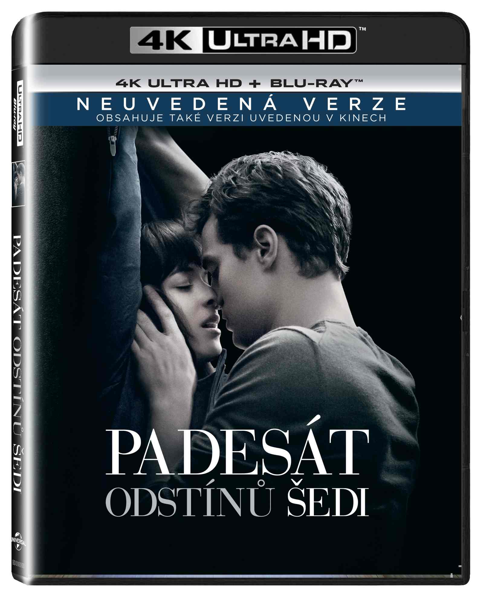 PADESÁT ODSTÍNŮ ŠEDI (4K ULTRA HD) - UHD Blu-ray + Blu-ray (2 BD)