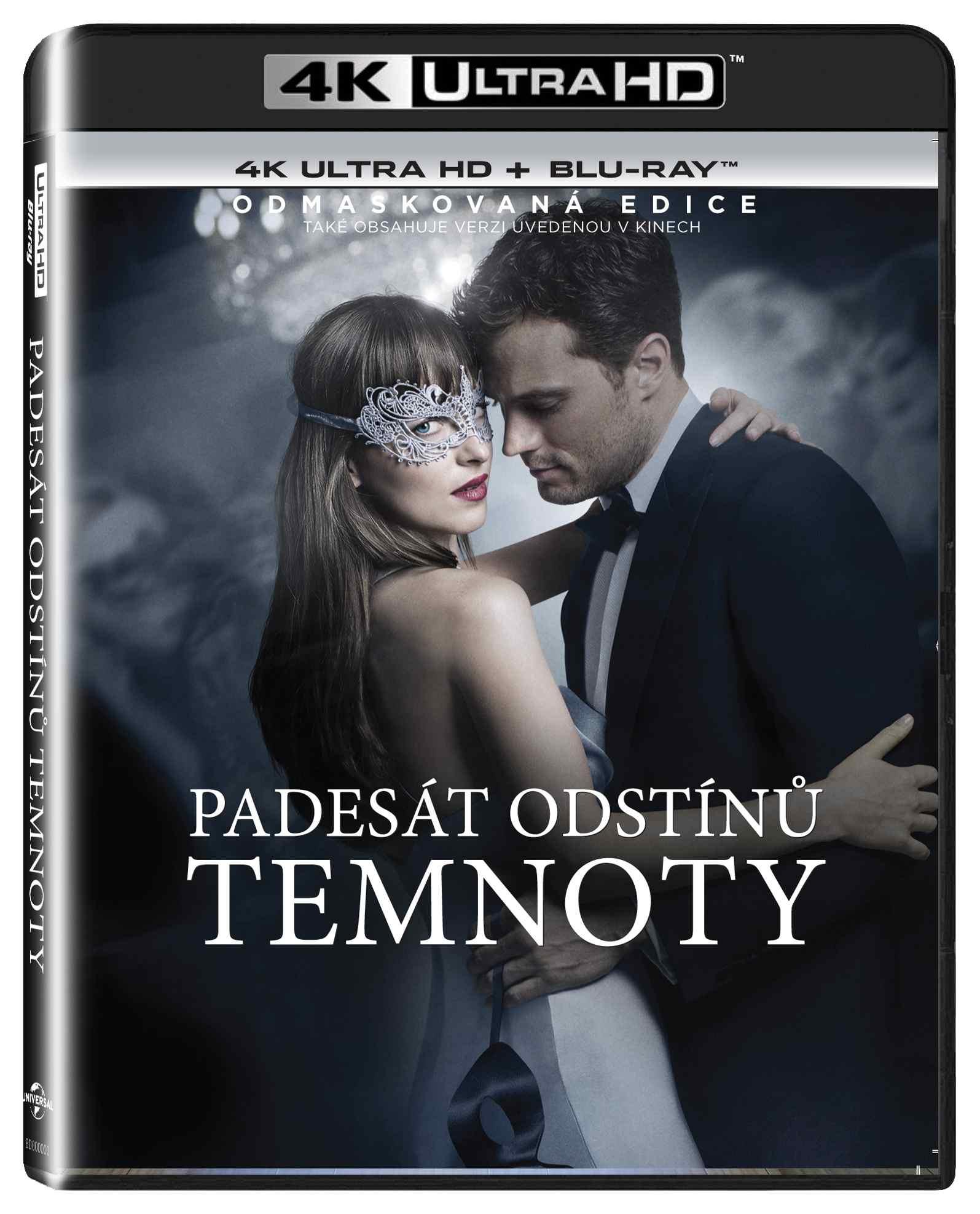 PADESÁT ODSTÍNŮ TEMNOTY (4K ULTRA HD) - UHD Blu-ray + Blu-ray (2 BD)