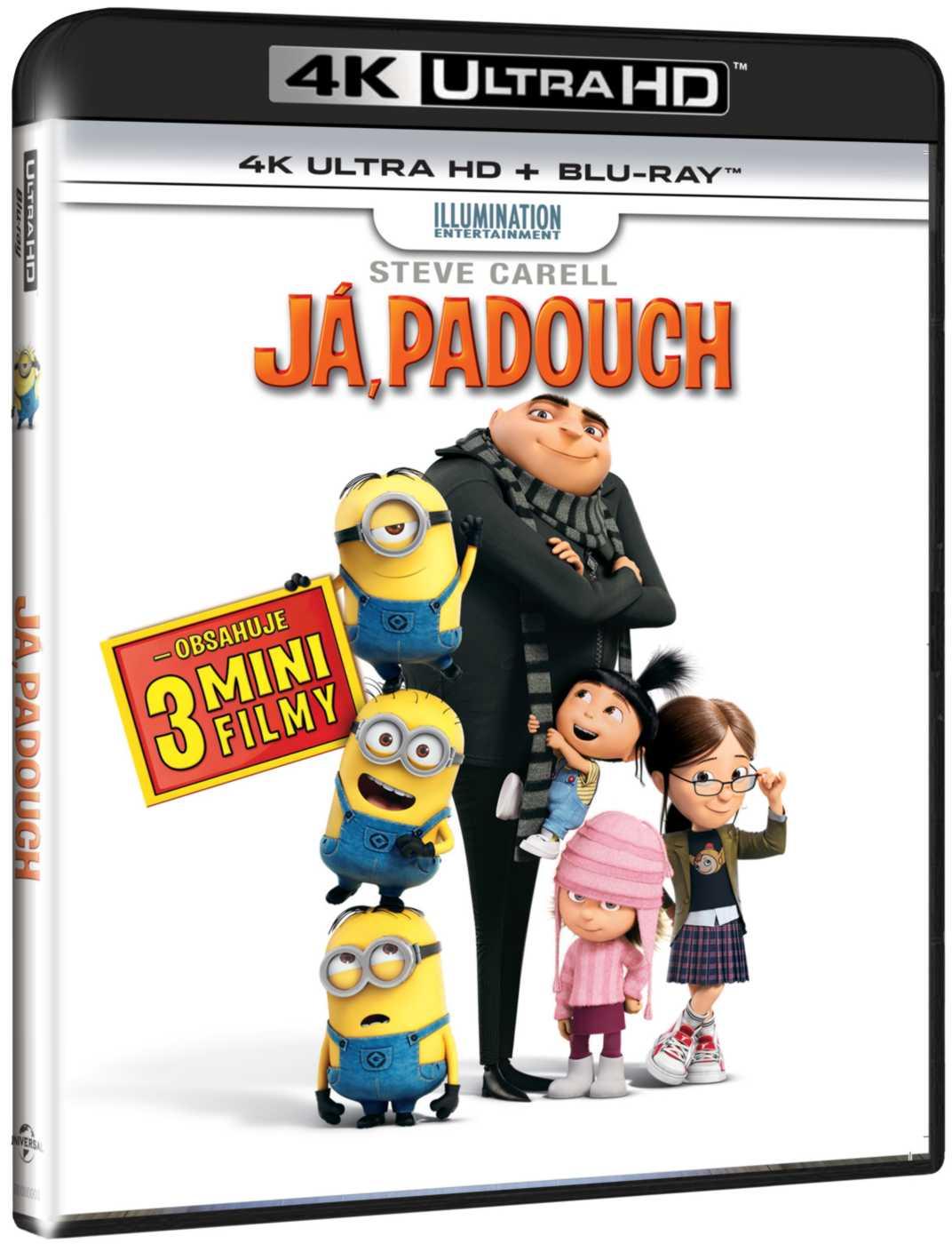 JÁ, PADOUCH (4K ULTRA HD) - UHD Blu-ray + Blu-ray (2 BD)