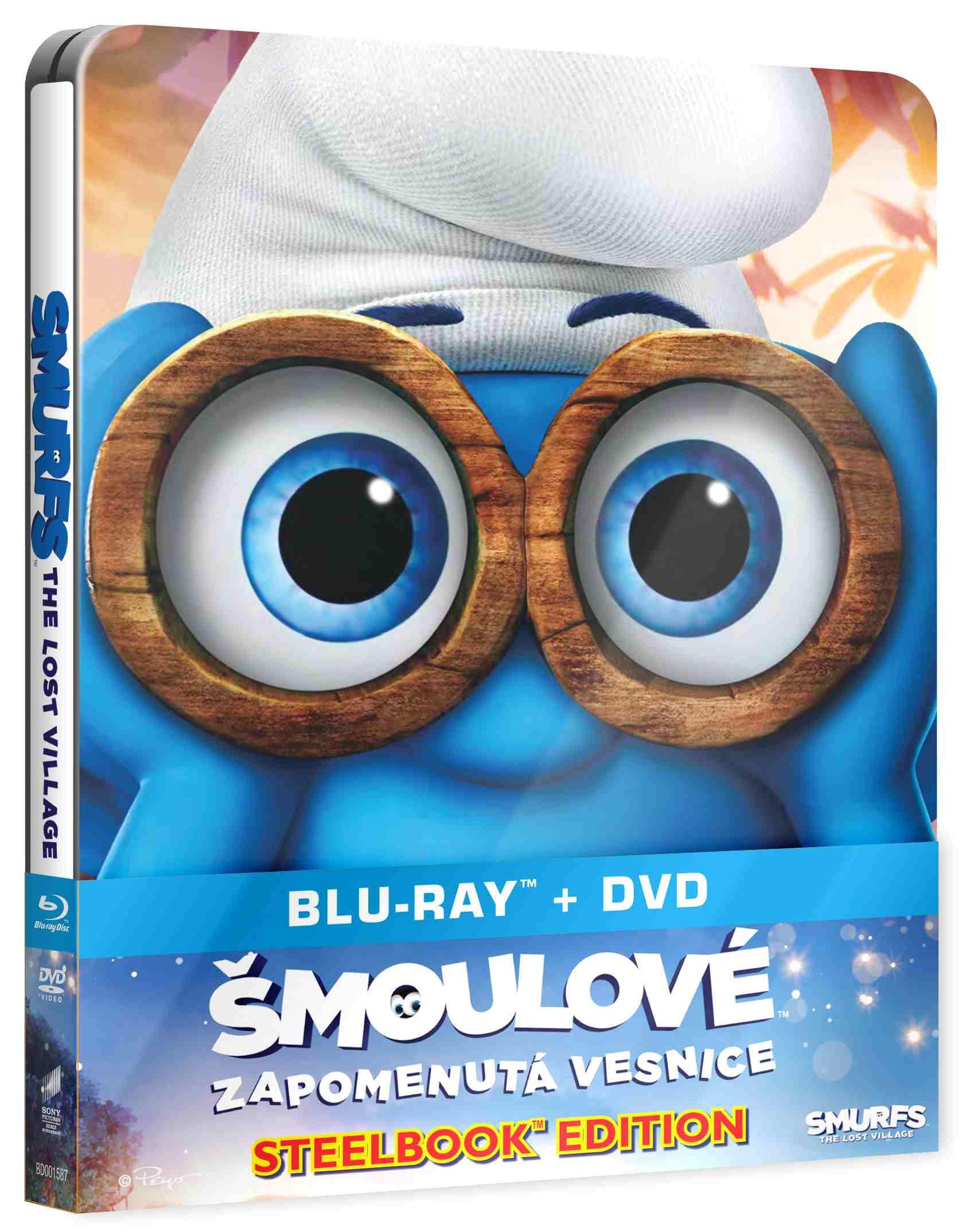 ŠMOULOVÉ: ZAPOMENUTÁ VESNICE - Blu-ray STEELBOOK (BD + DVD)