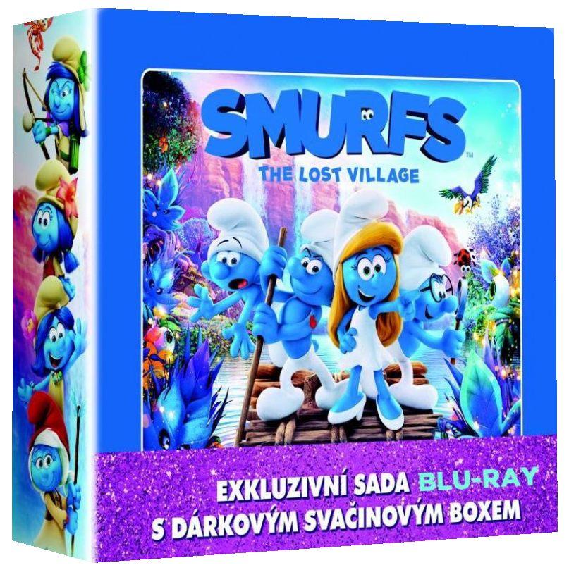 ŠMOULOVÉ 1-3 LUNCH BOX KOLEKCE - Blu-ray (3 BD)