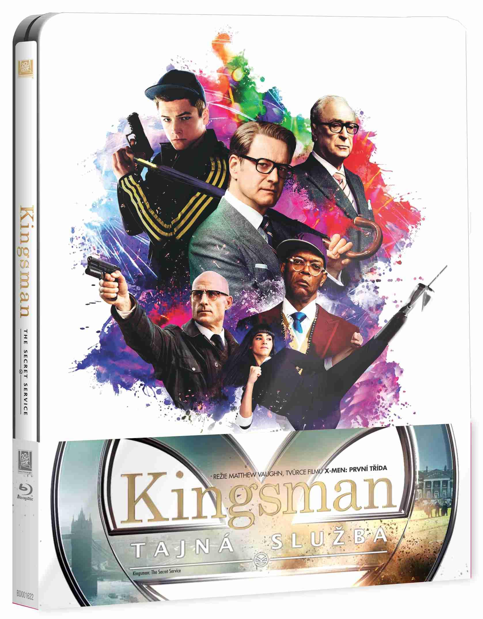 KINGSMAN: TAJNÁ SLUŽBA - Blu-ray STEELBOOK