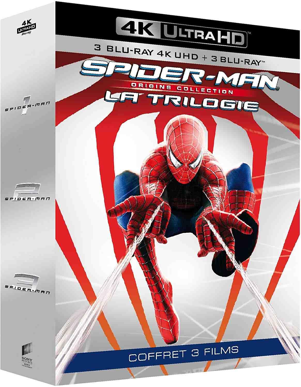 SPIDER-MAN ORIGINS 1-3 KOLEKCE (7 BD) - UHD + Blu-ray + bonus disk DIGIBOOK