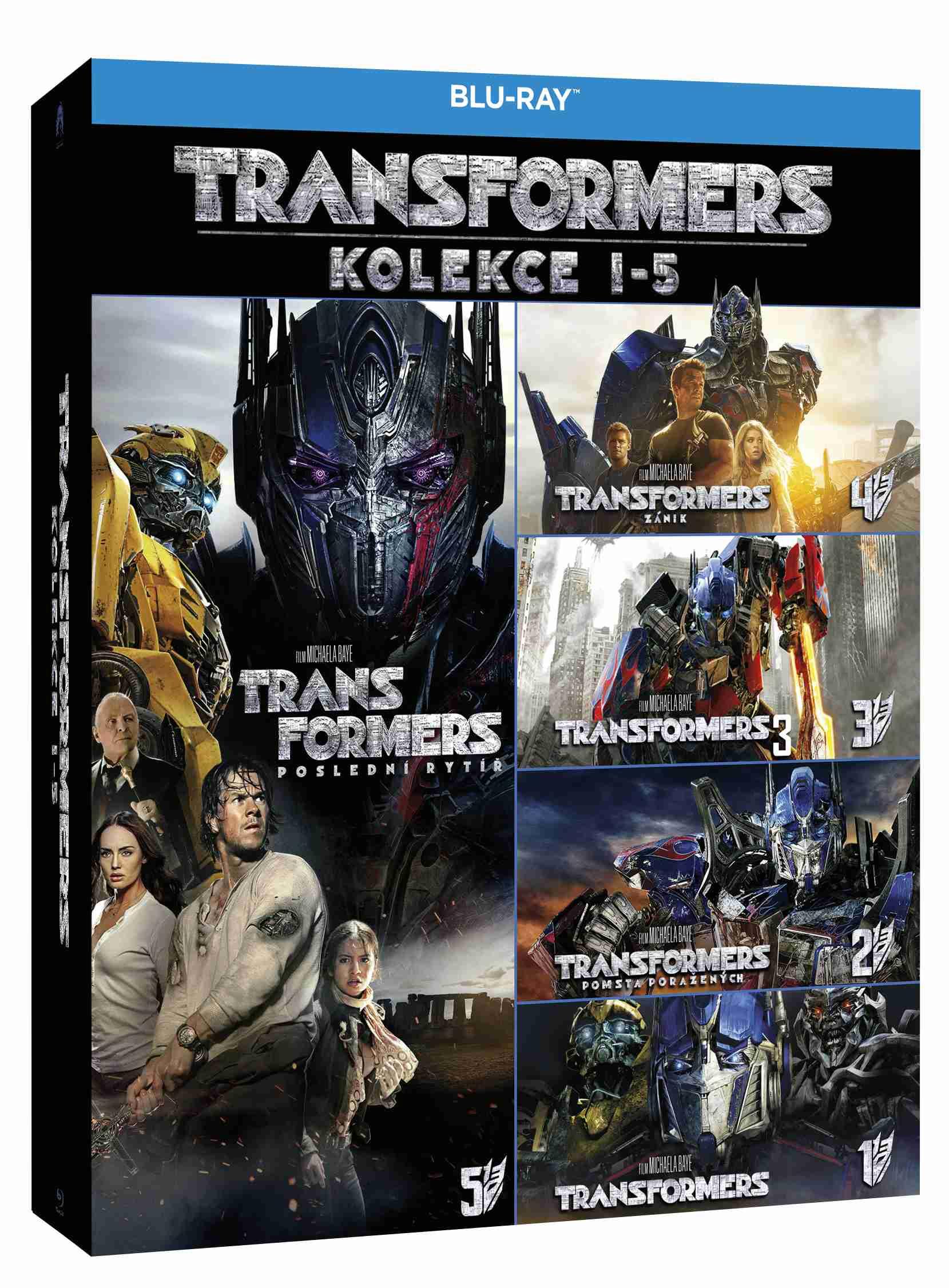 TRANSFORMERS 1-5 KOLEKCE (5 BD) - Blu-ray