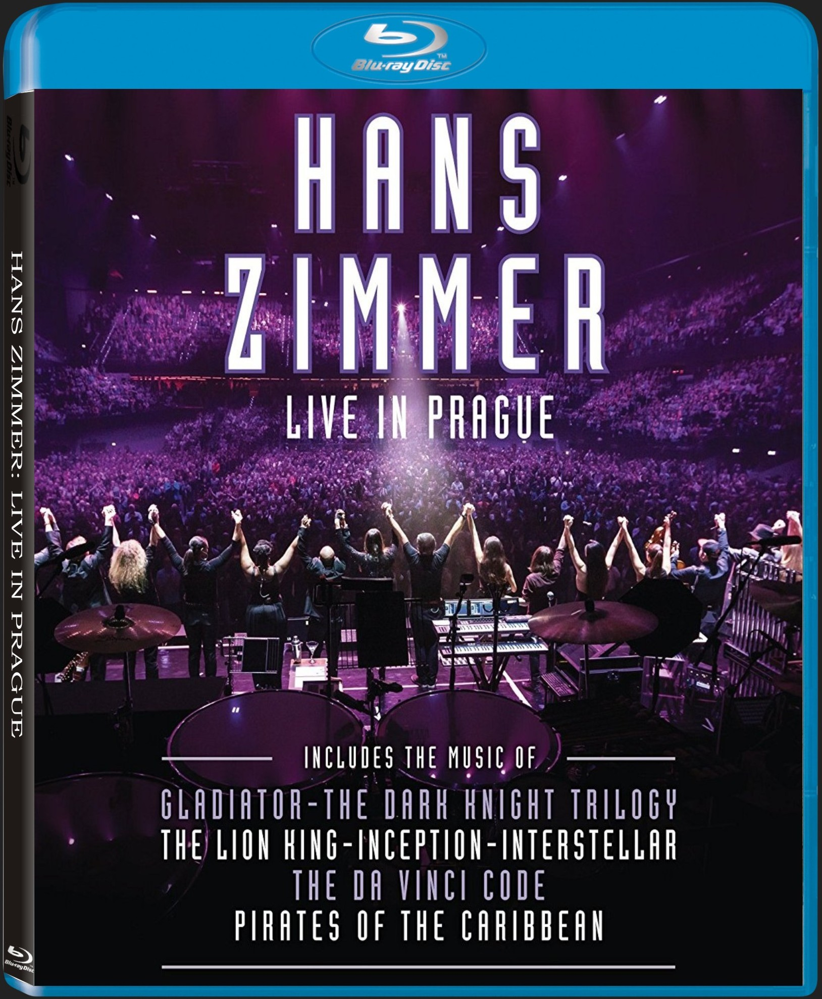 HANS ZIMMER: LIVE IN PRAGUE 2016 - Blu-ray