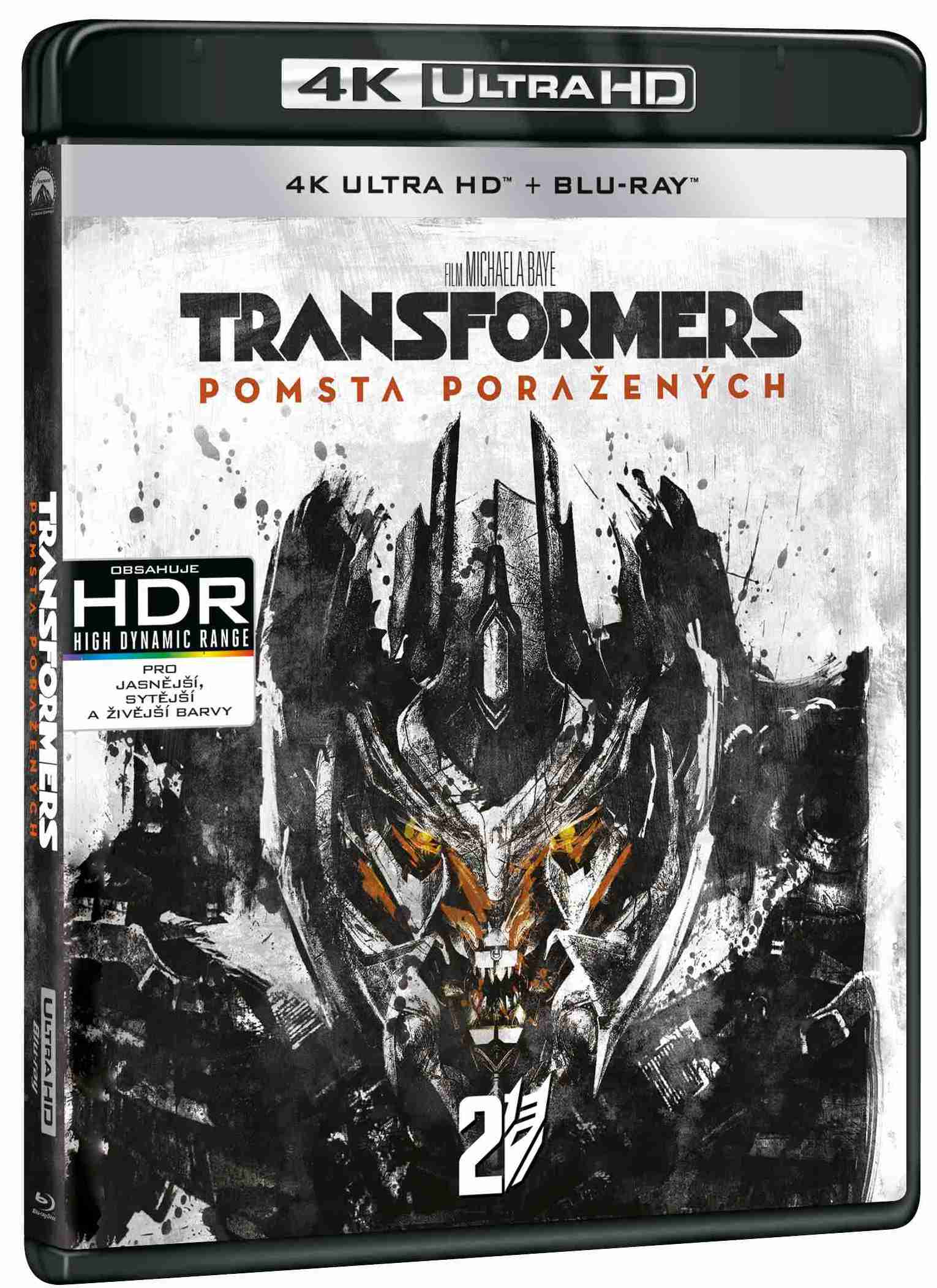 TRANSFORMERS: POMSTA PORAŽENÝCH (4K ULTRA HD) - UHD Blu-ray + Blu-ray (2 BD)