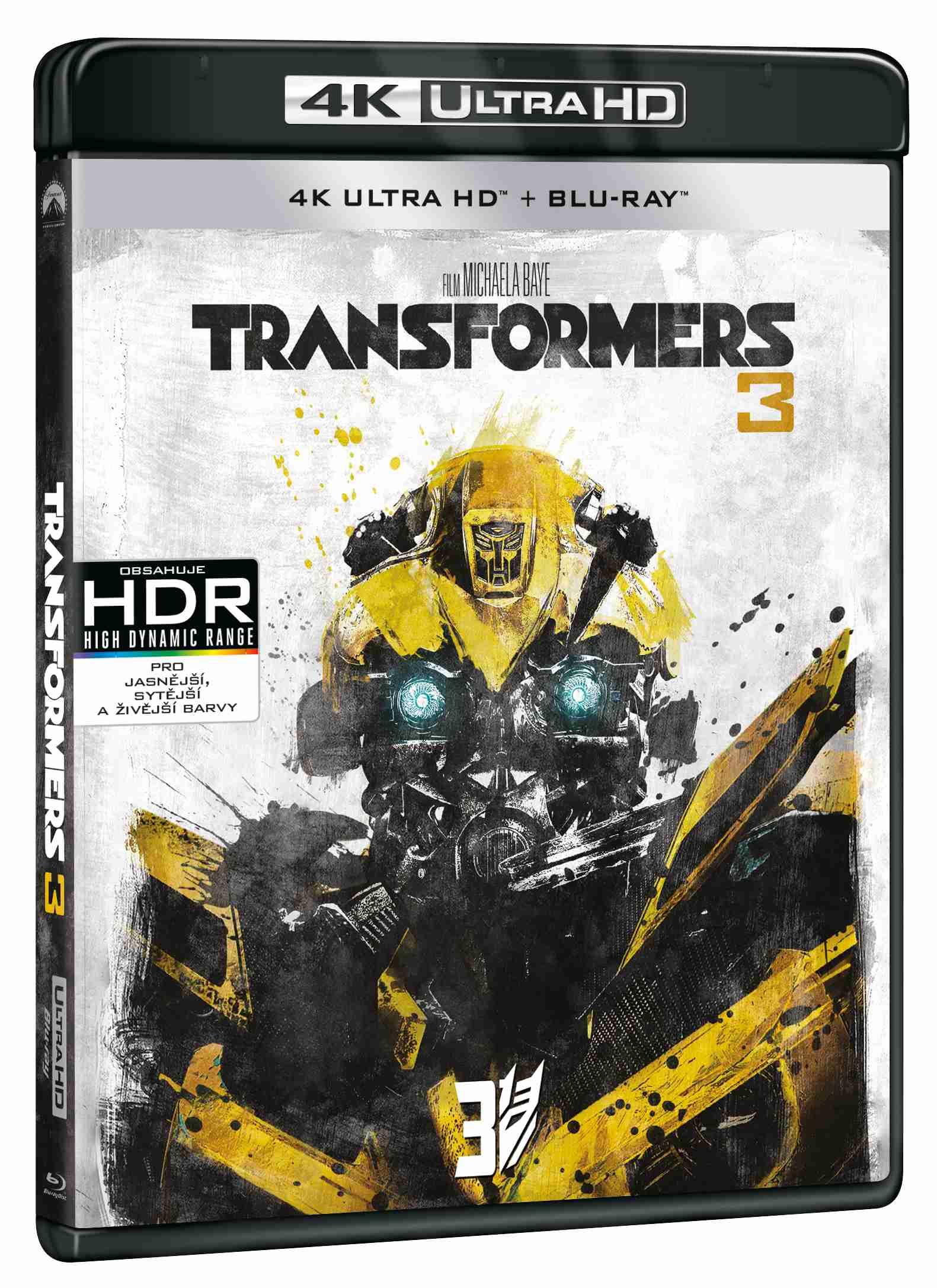TRANSFORMERS 3 (4K ULTRA HD) - UHD Blu-ray + Blu-ray (2 BD)