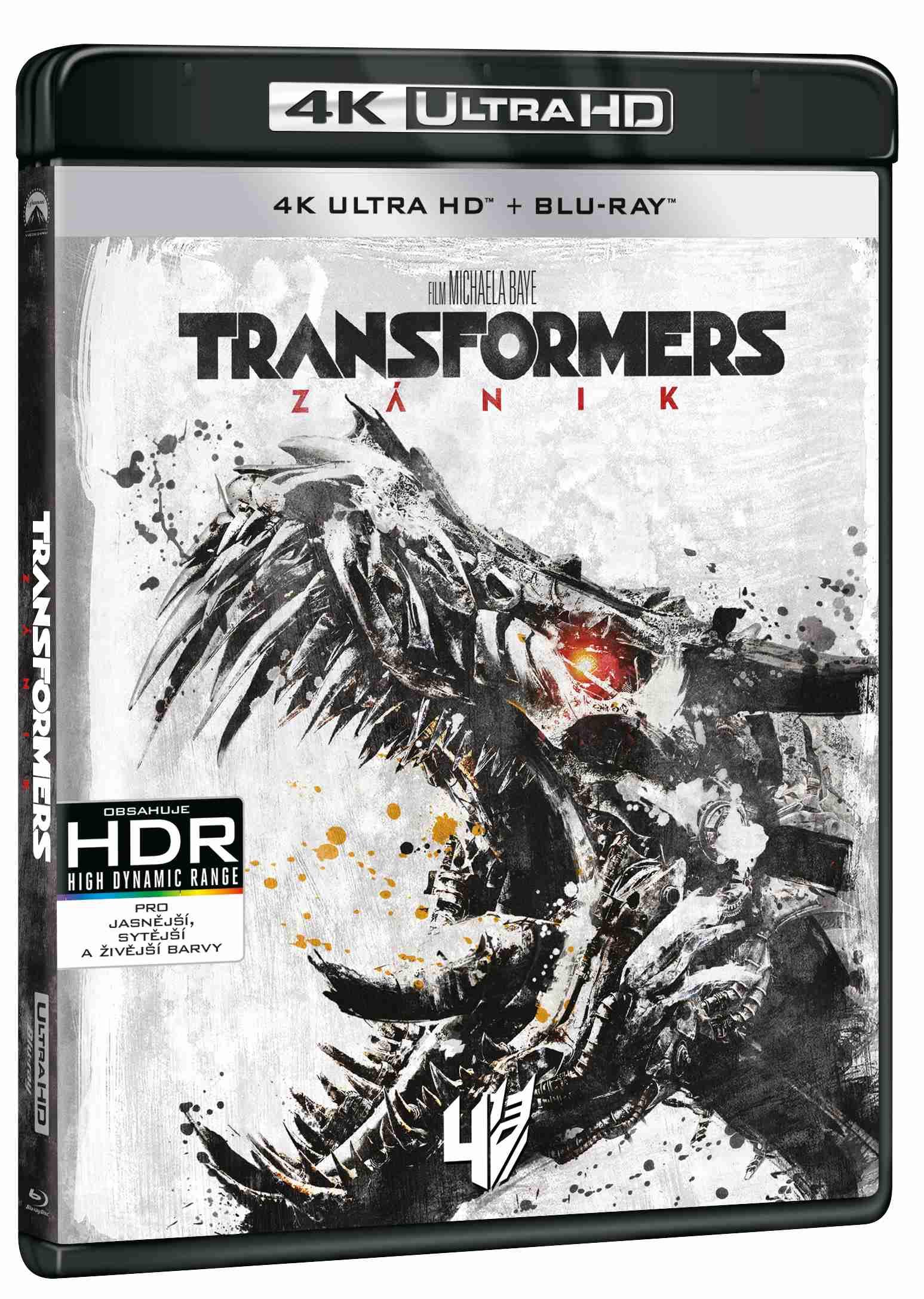 TRANSFORMERS: ZÁNIK (4K ULTRA HD) - UHD Blu-ray + Blu-ray (2 BD)