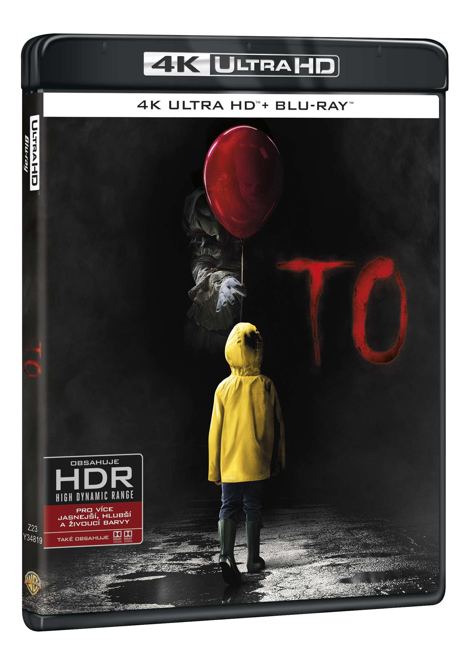 To (2017) - (4K ULTRA HD) - UHD Blu-ray + Blu-ray (2 BD)