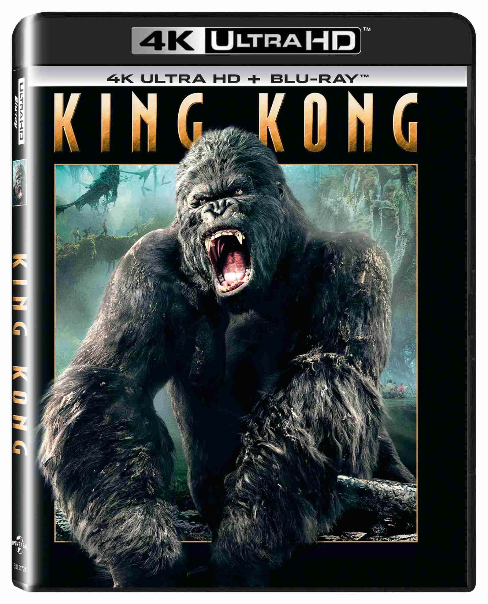 King Kong (4K Ultra HD) - UHD Blu-ray + Blu-ray (2 BD)