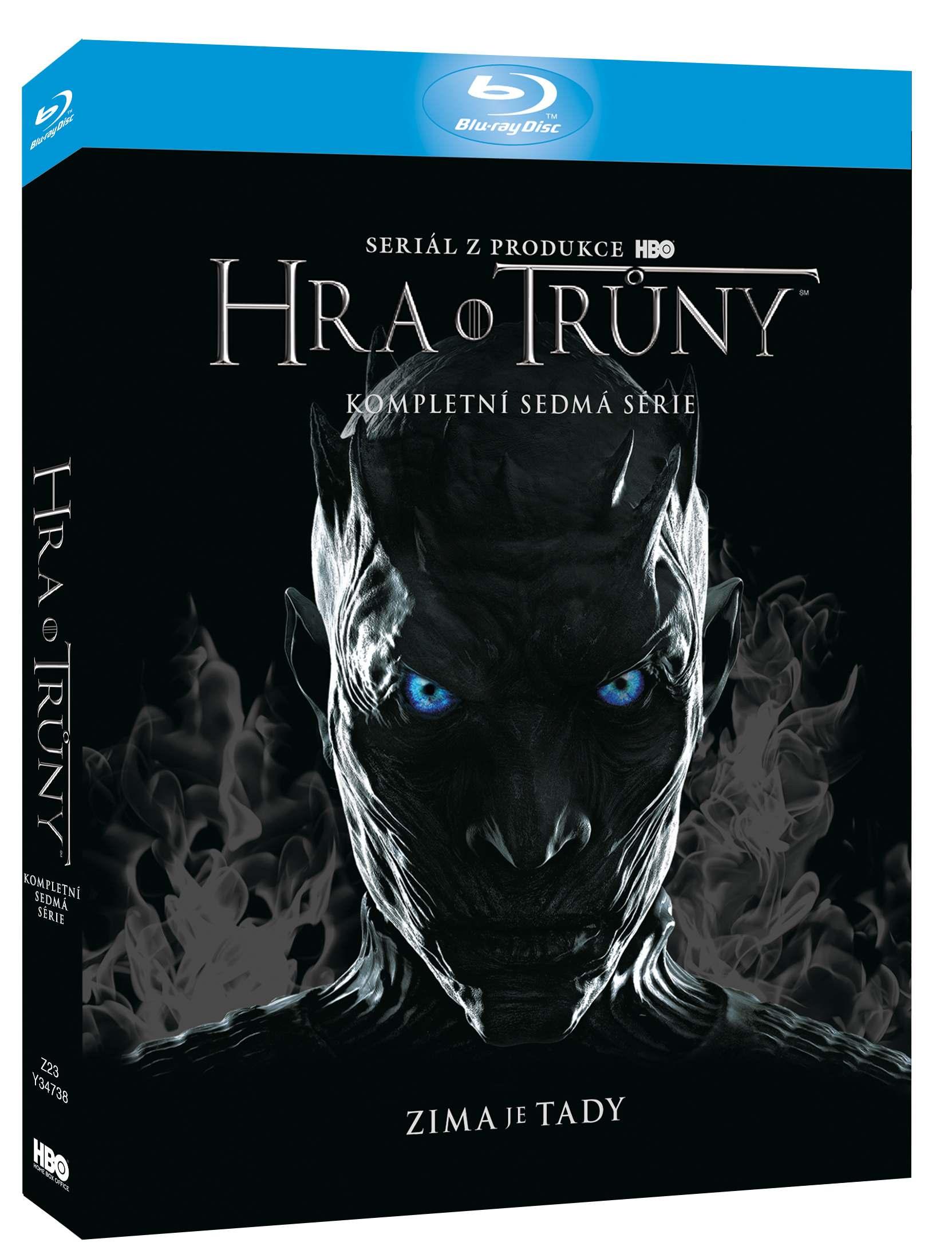 Hra o trůny - 7. série (3 BD) - Blu-ray Viva balení