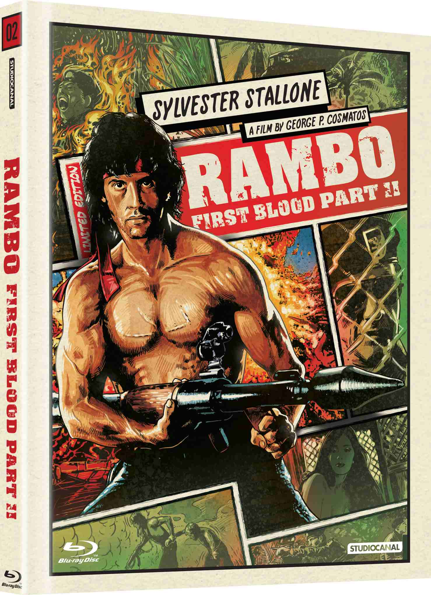 Rambo 2 - Blu-ray Digibook