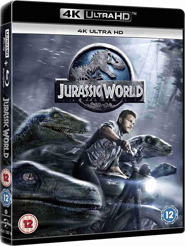 Jurský svět (4K Ultra HD) - UHD Blu-ray + Blu-ray (2 BD)