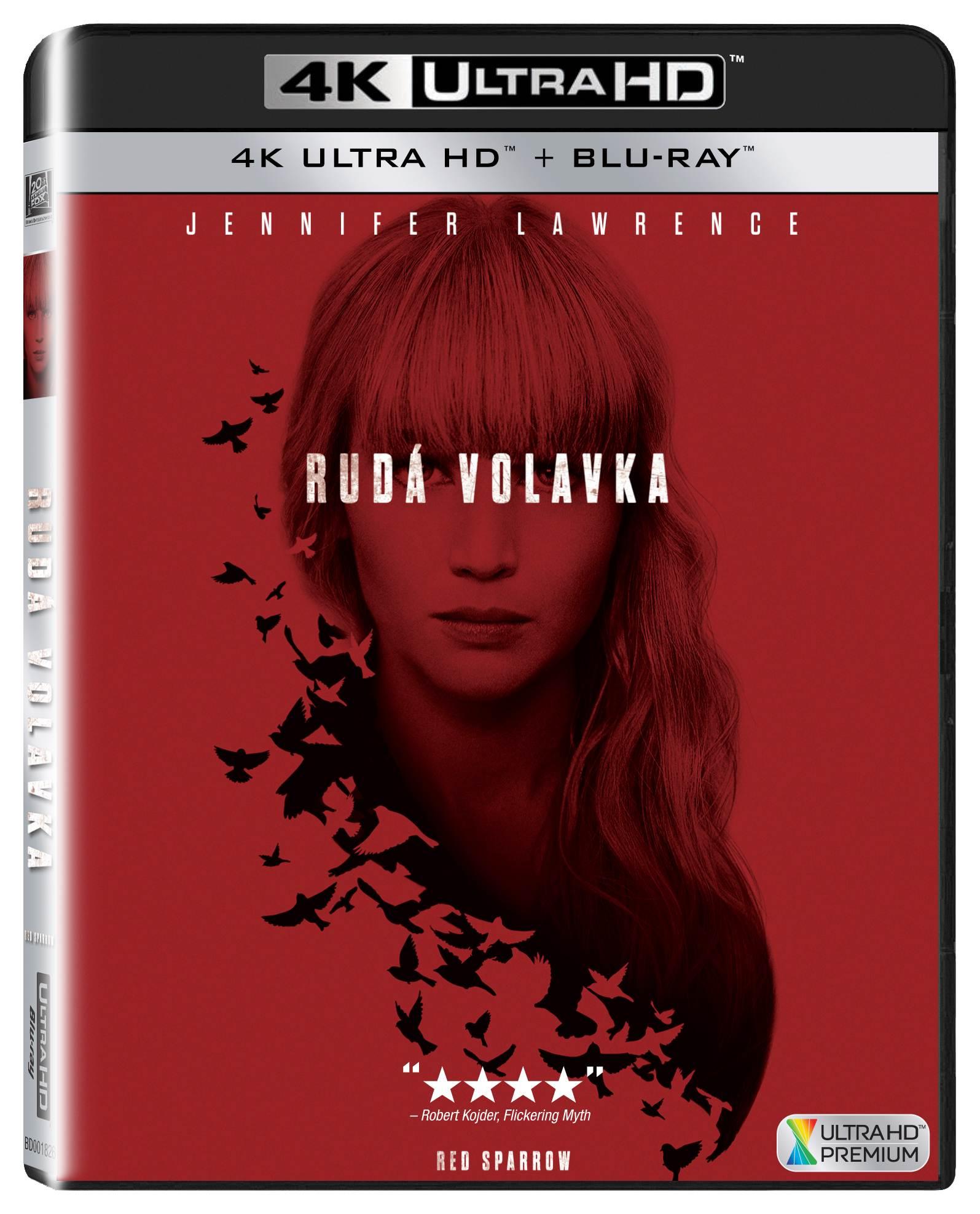 Rudá volavka (4K Ultra HD) - UHD Blu-ray + Blu-ray (2 BD)