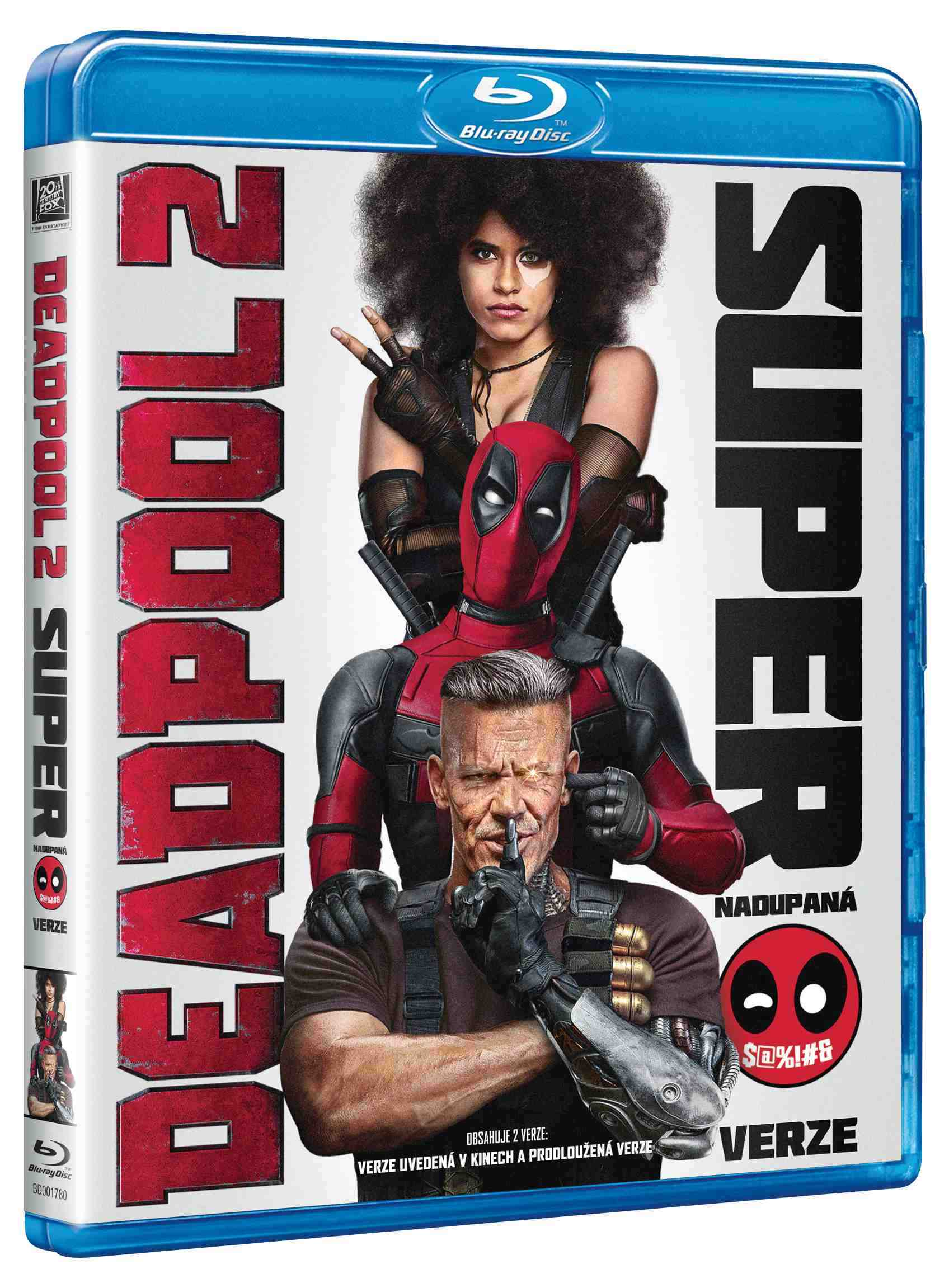 Deadpool 2 - Blu-ray (Super nadupaná verze 2BD)