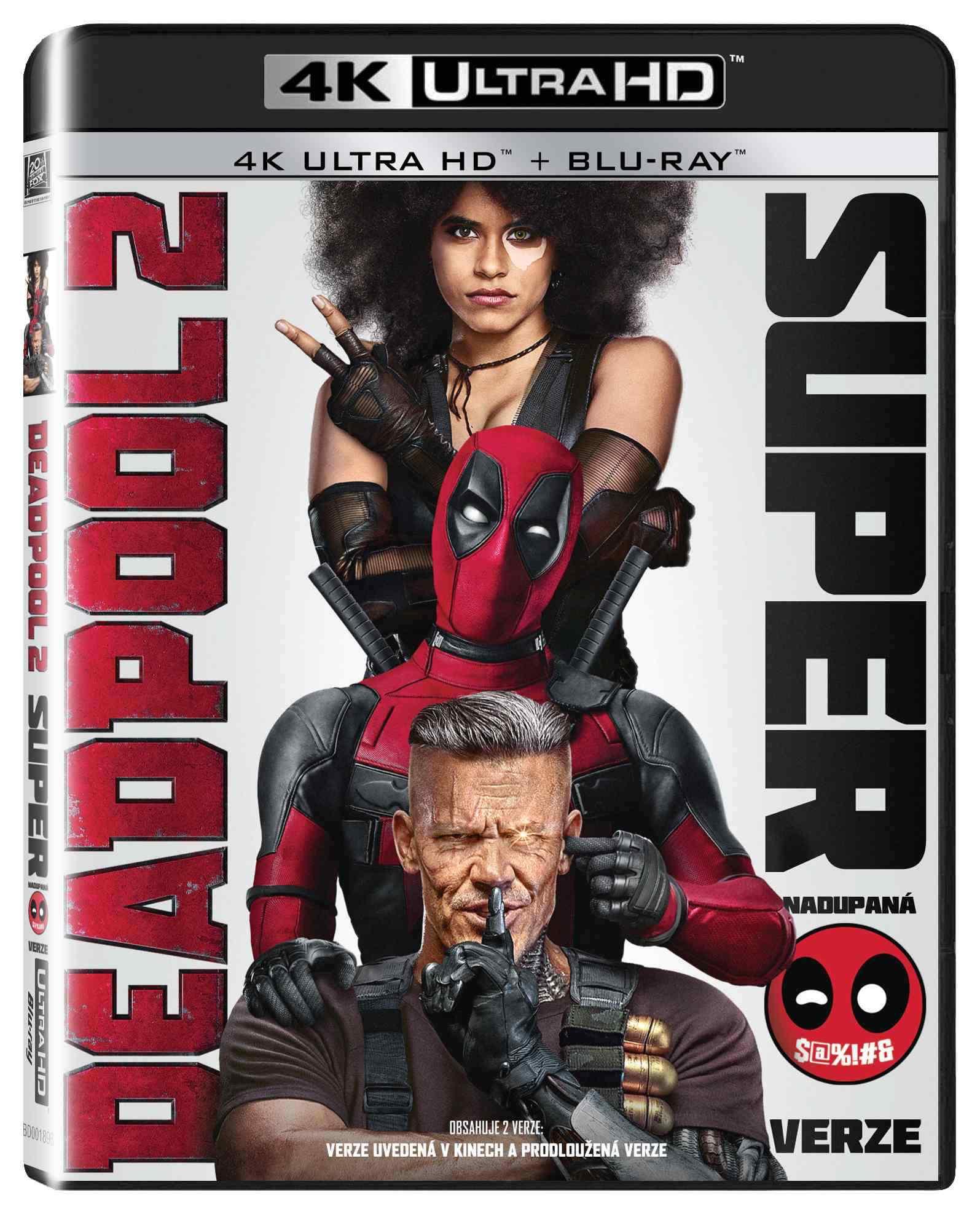 Deadpool 2 (4K Ultra HD) - (Super nadupaná verze 2UHD + 2BD)