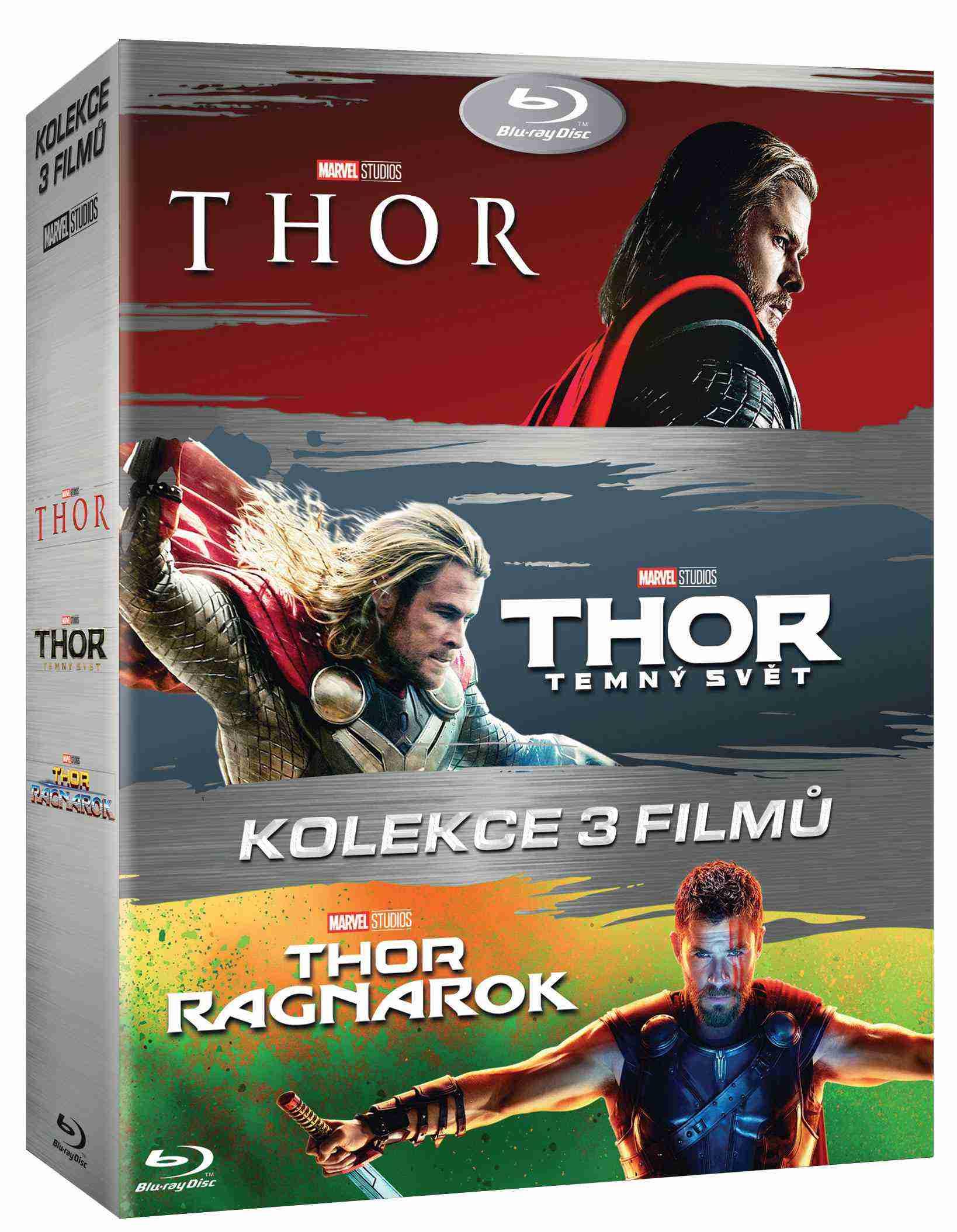 Thor 1-3 kolekce - Blu-ray (3 BD)