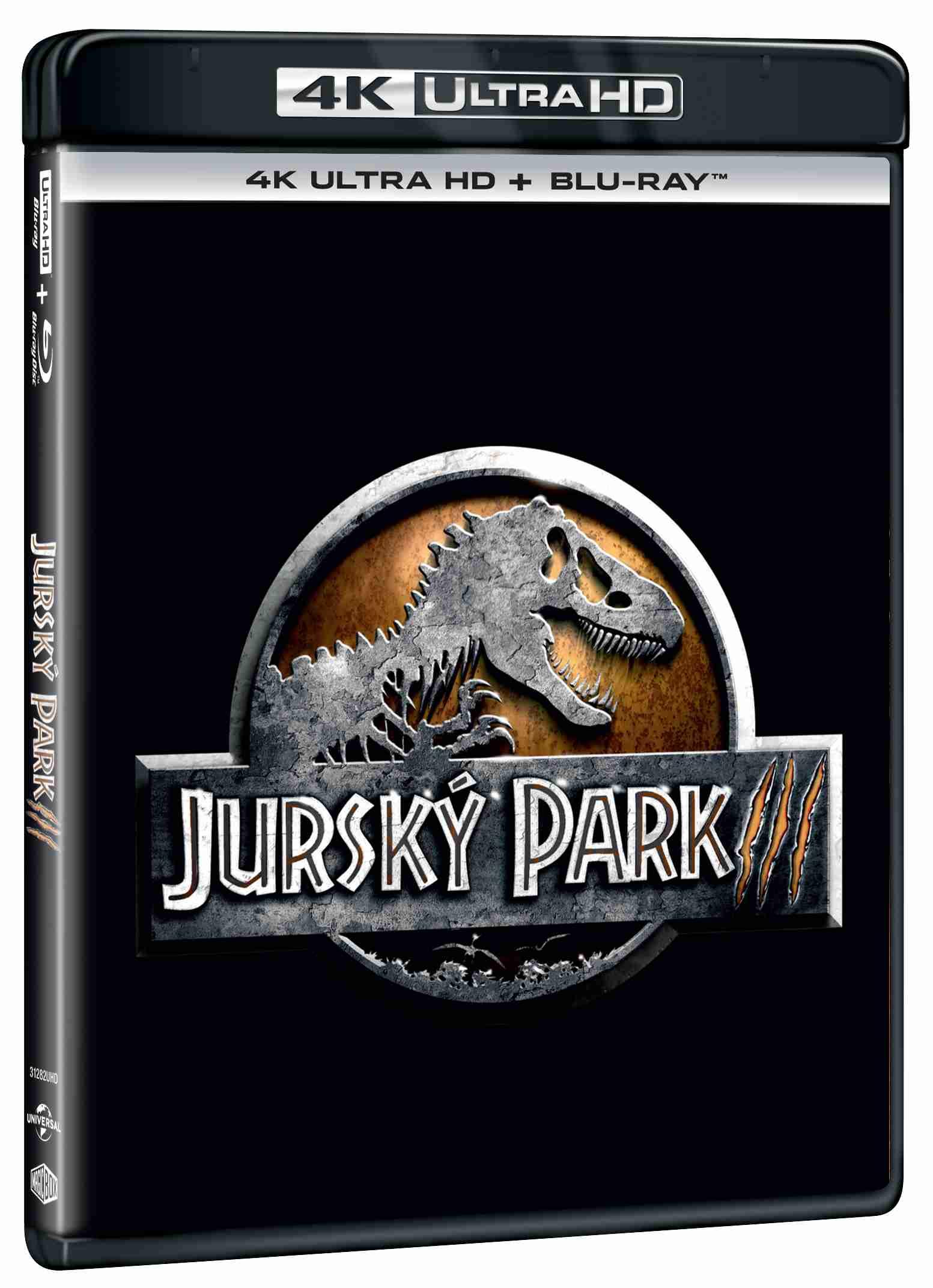 Jurský park 3 (4K Ultra HD) - UHD Blu-ray + Blu-ray (2 BD)