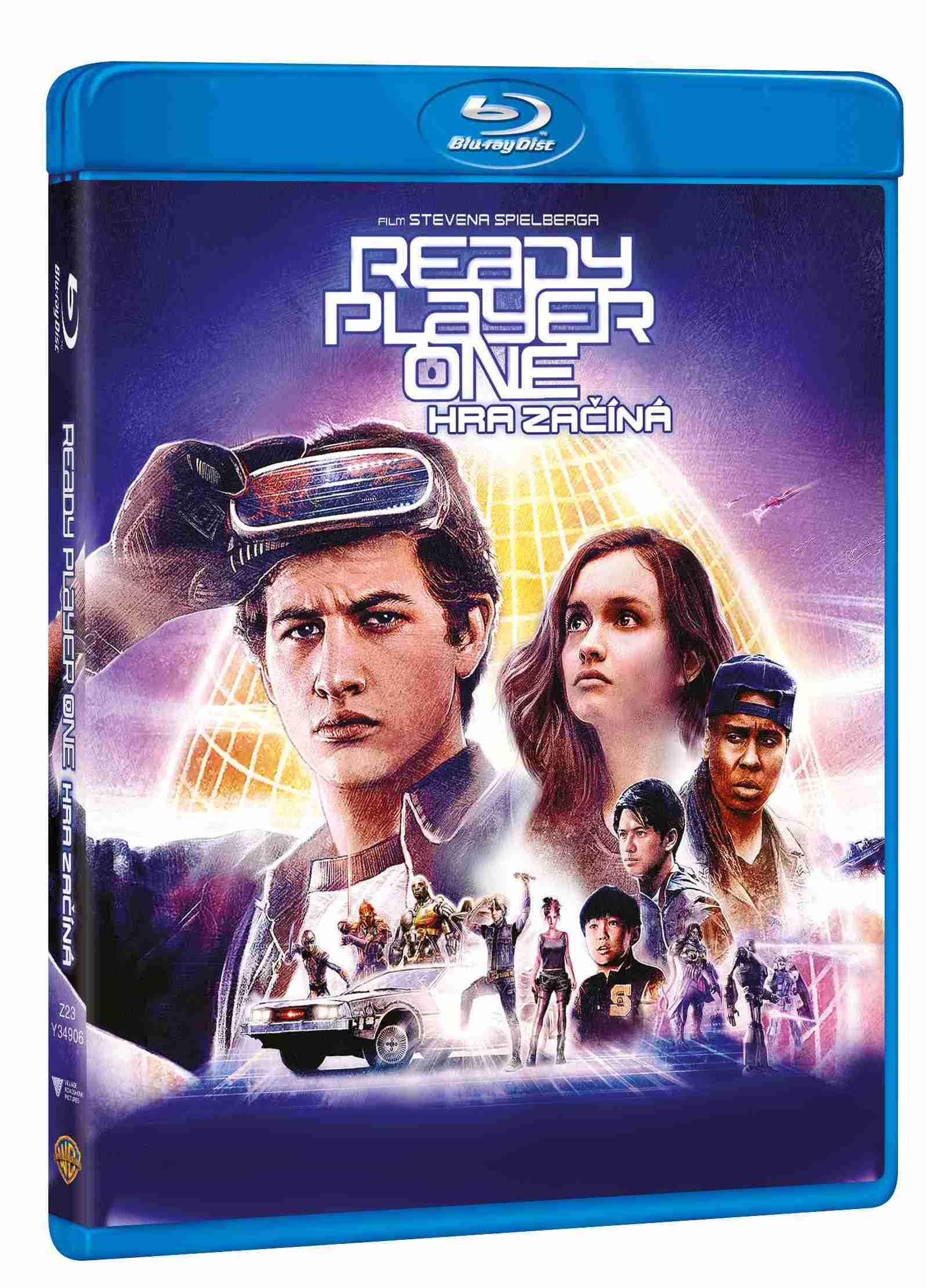 Ready Player One: Hra začíná - Blu-ray