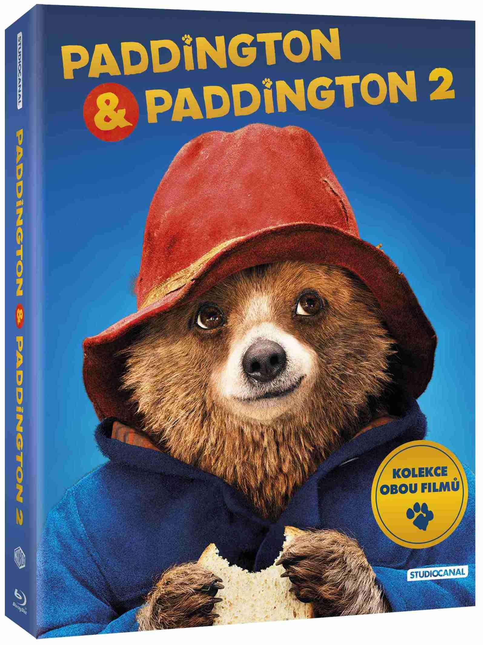Paddington 1+2 kolekce - Blu-ray (2 BD)