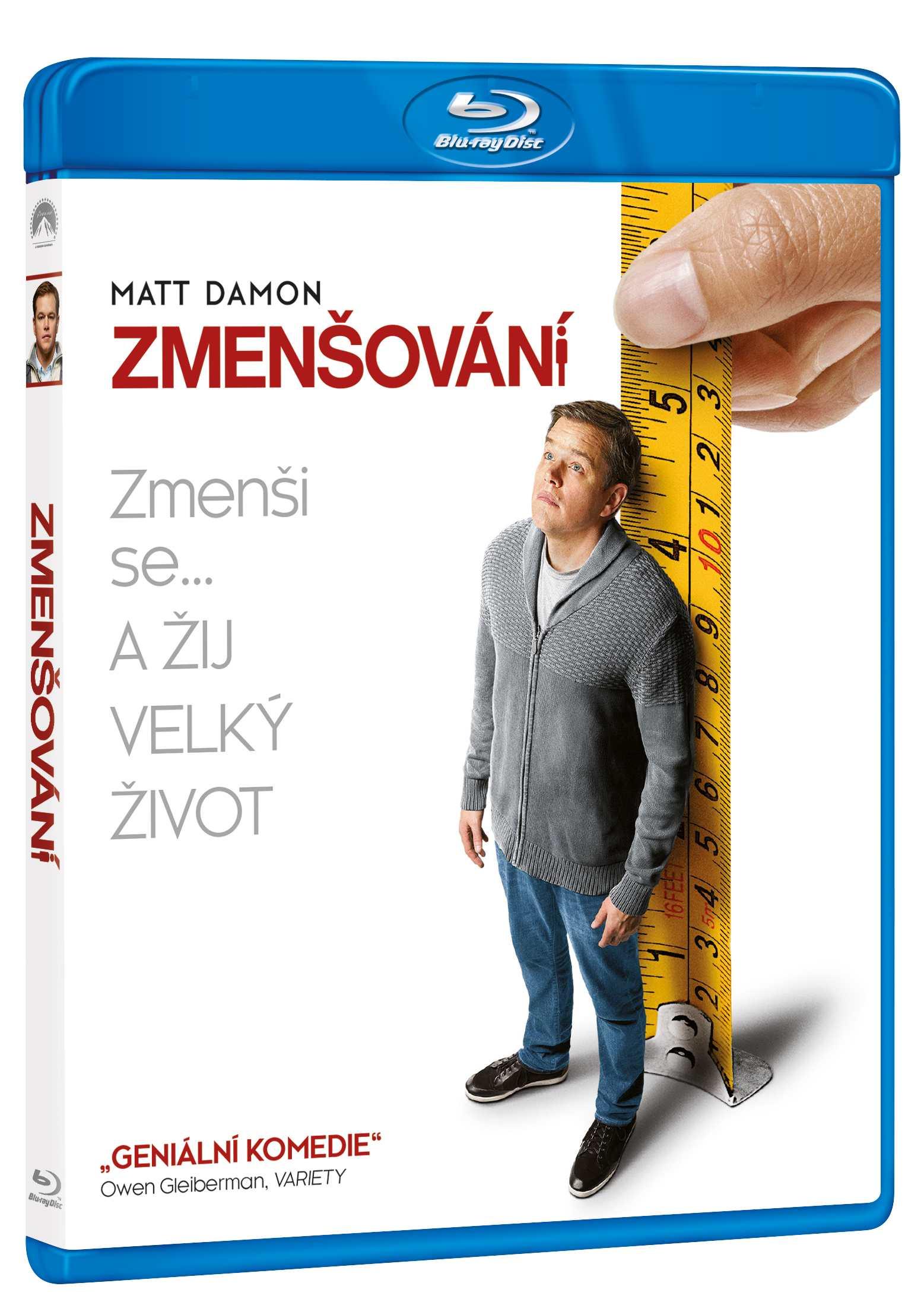 Zmenšování - Blu-ray