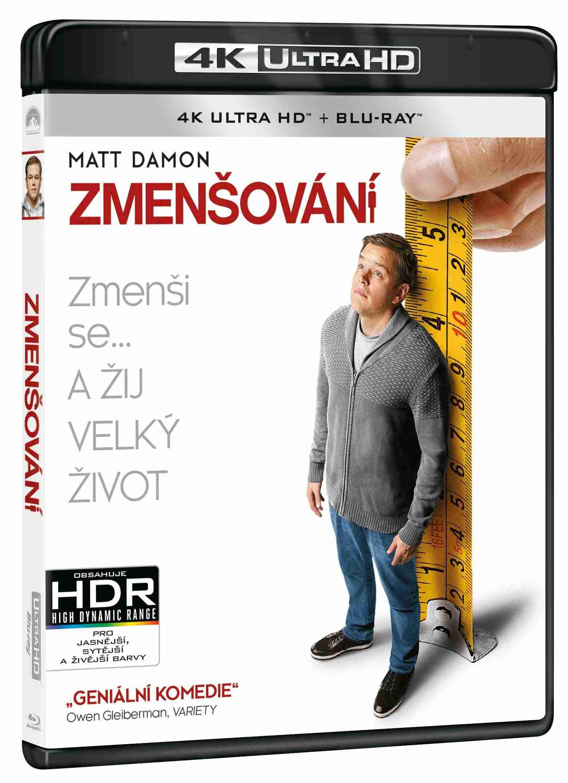 Zmenšování (4K ULTRA HD) - UHD Blu-ray + Blu-ray (2 BD)