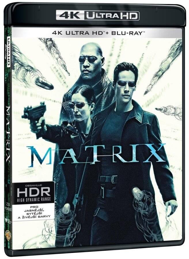 Matrix (4K ULTRA HD) - UHD Blu-ray + Blu-ray + Bonus disc (3 BD)