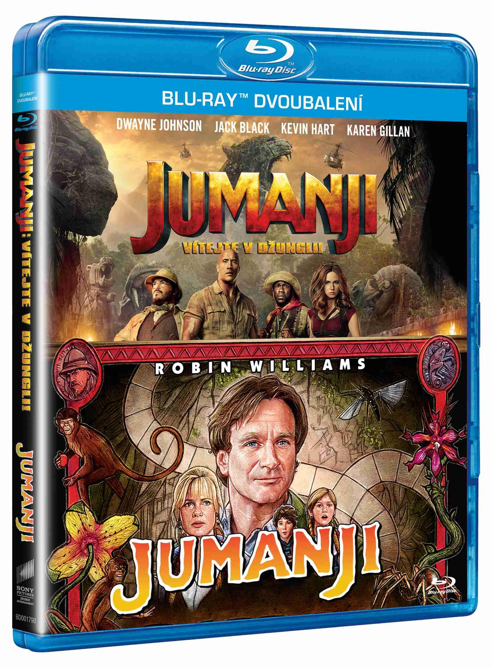 Jumanji 1+2 kolekce - Blu-ray (2 BD)