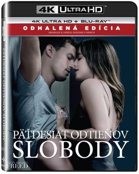 Padesát odstínů svobody (4K Ultra HD) - UHD Blu-ray + BD (2 BD) SK obal