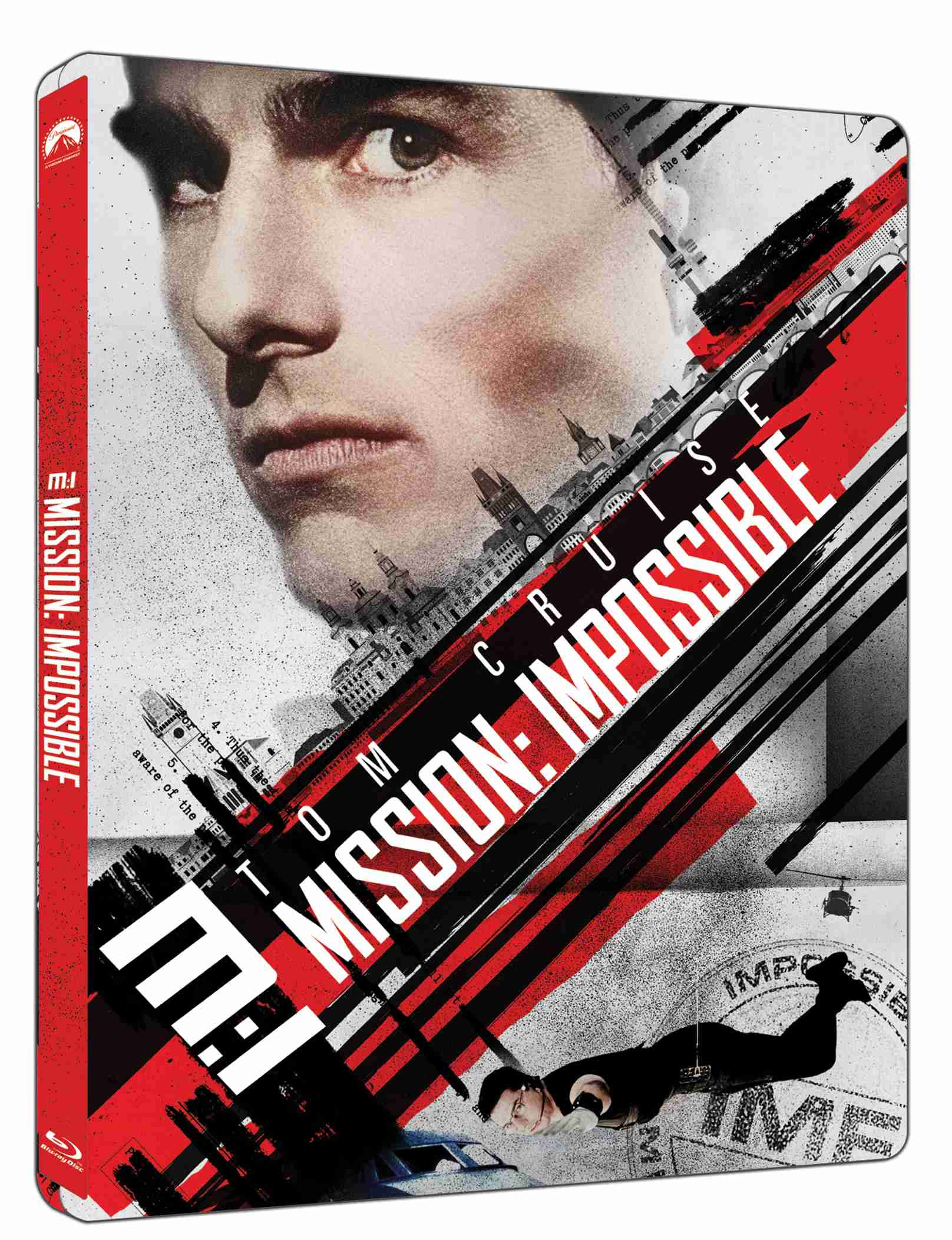 Mission: Impossible (4K ULTRA HD) Steelbook - UHD Blu-ray + Blu-ray (2 BD)