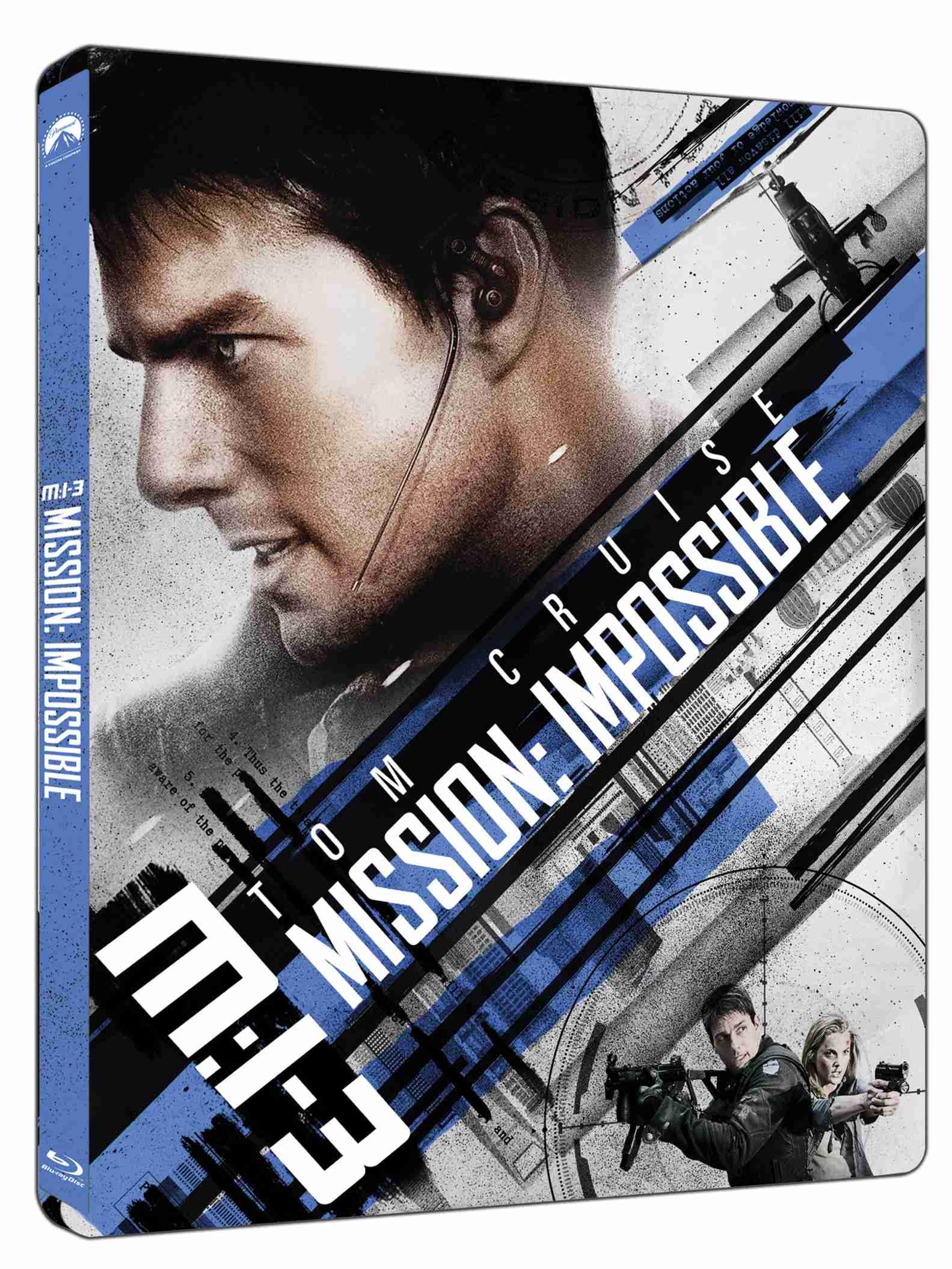 Mission: Impossible 3 (4K ULTRA HD) Steelbook - UHD Blu-ray + Blu-ray (2 BD)