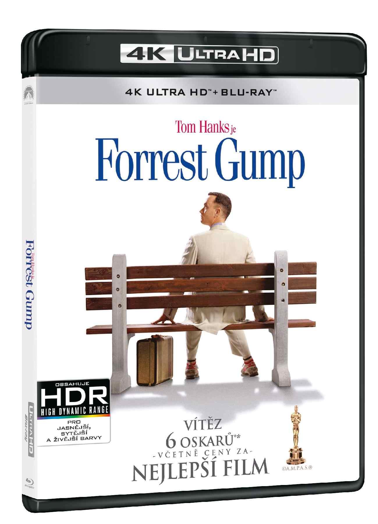 Forrest Gump (4K ULTRA HD) - UHD Blu-ray + Blu-ray (2 BD)