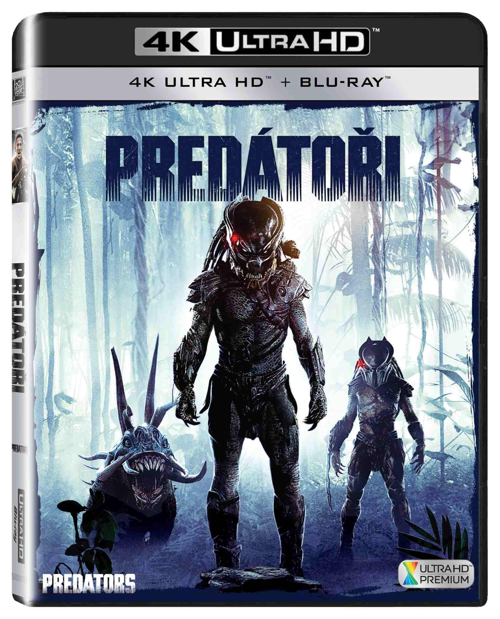 Predátoři (4K ULTRA HD) - UHD Blu-ray + Blu-ray (2 BD)