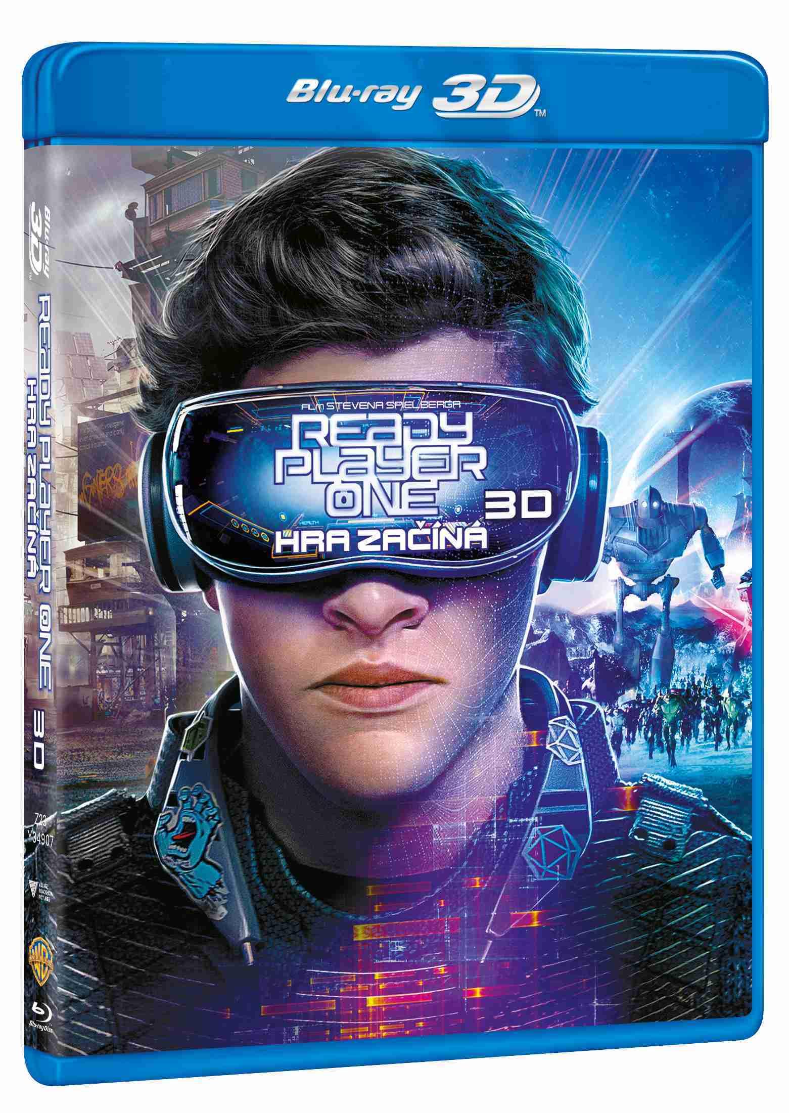 Ready Player One: Hra začíná - Blu-ray 3D + 2D