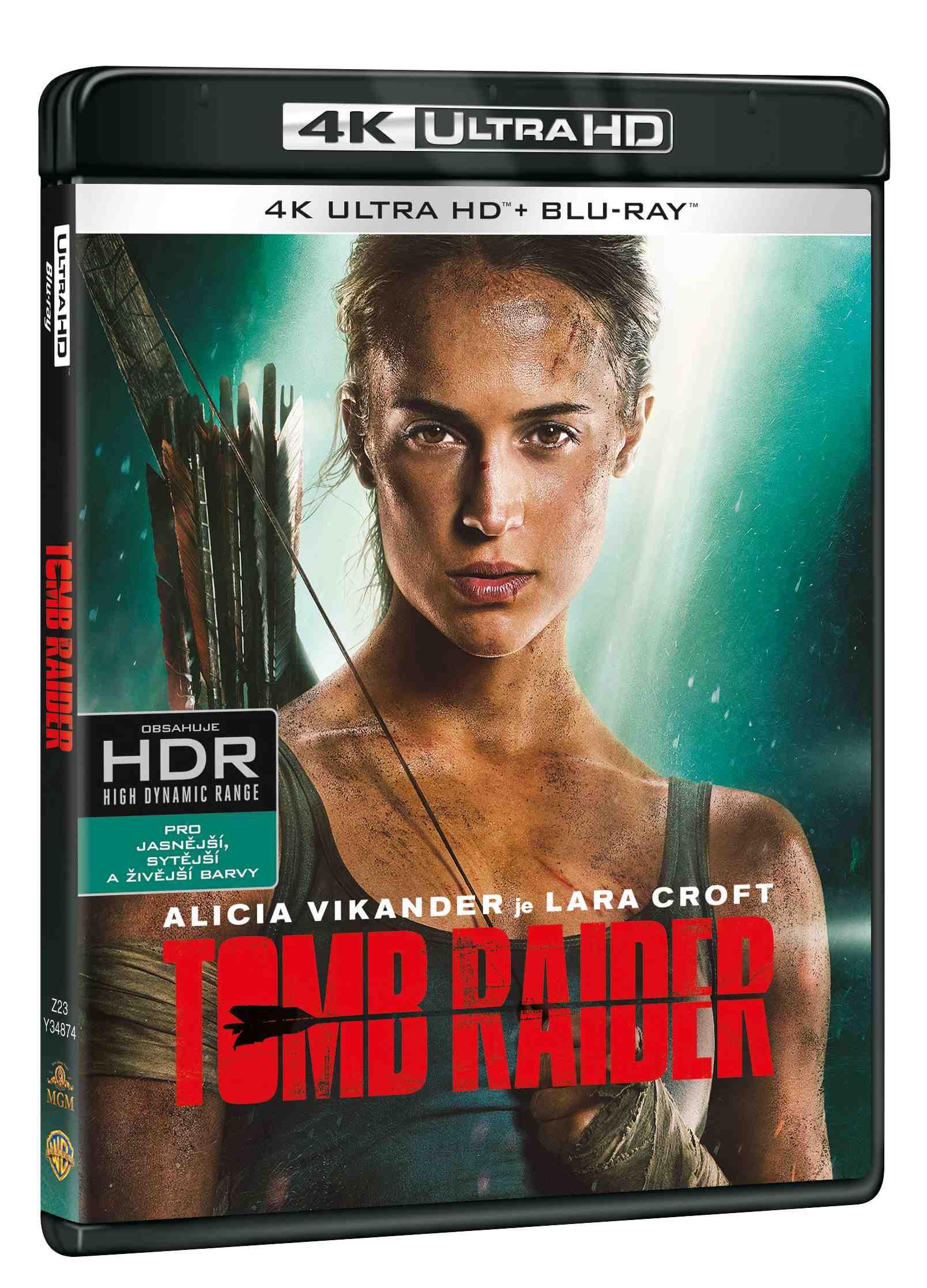 Tomb Raider (4K ULTRA HD) - UHD Blu-ray + Blu-ray (2 BD)