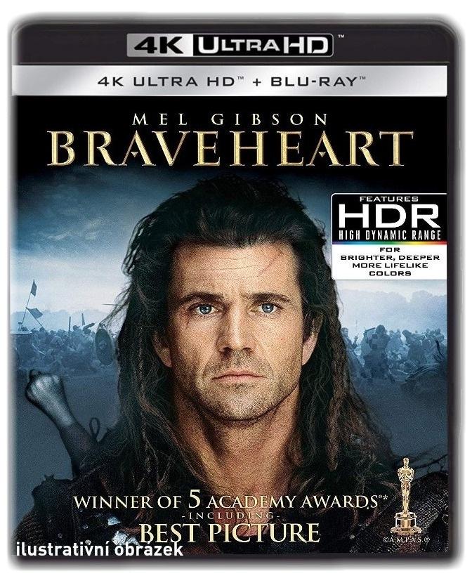 Statečné srdce - (4K ULTRA HD) - UHD Blu-ray + Blu-ray (2 BD)