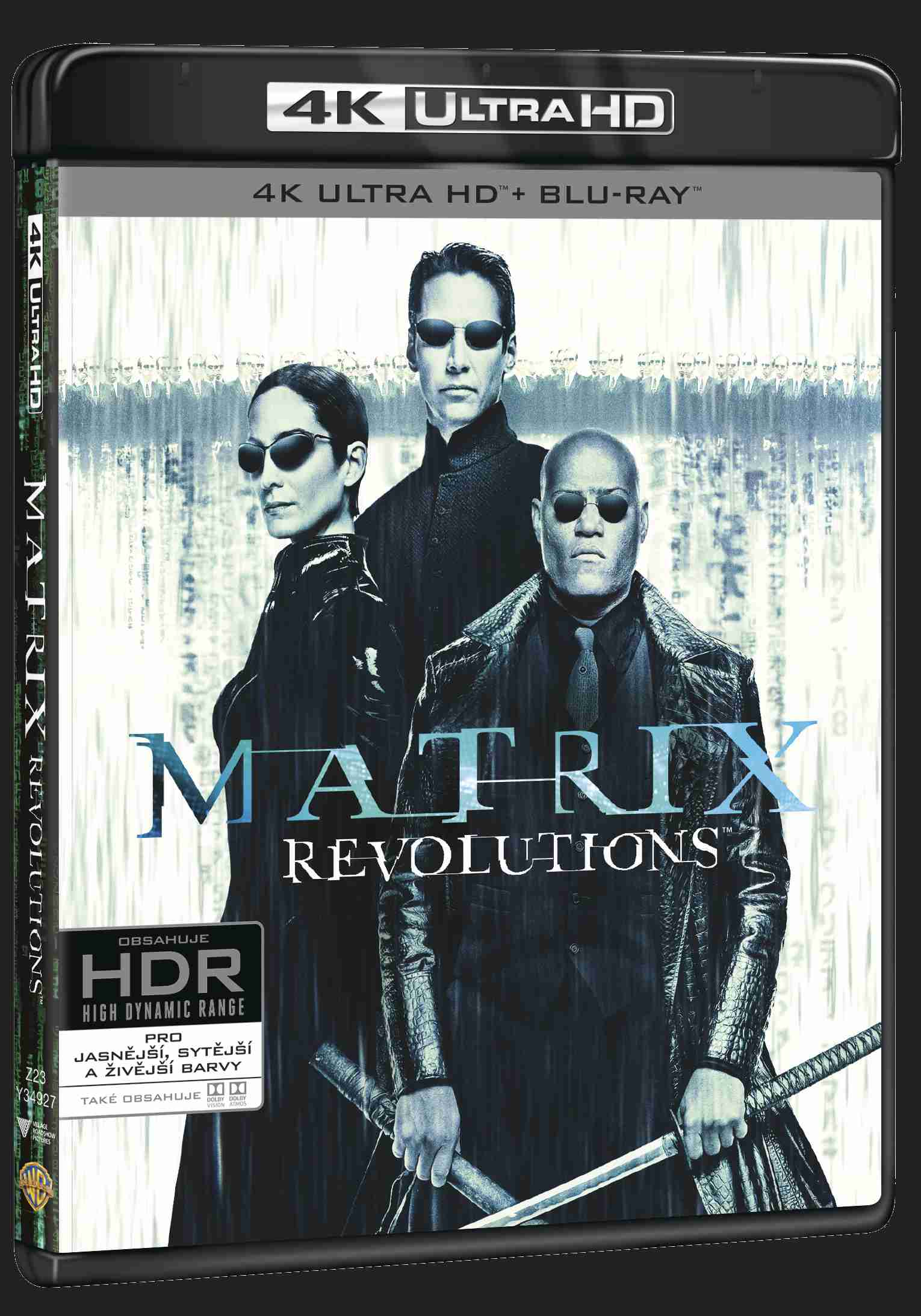 Matrix Revolutions (4K ULTRA HD) - UHD Blu-ray + Blu-ray + Bonus disc (3 BD)