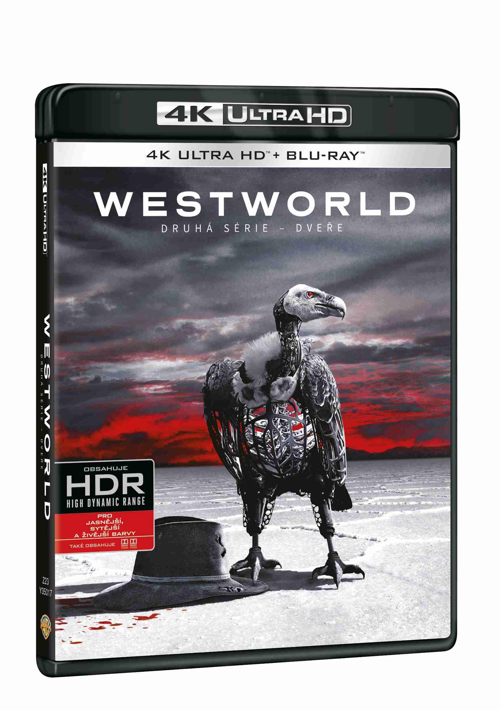 Westworld 2. série (4K ULTRA HD) - UHD Blu-ray (3 BD)