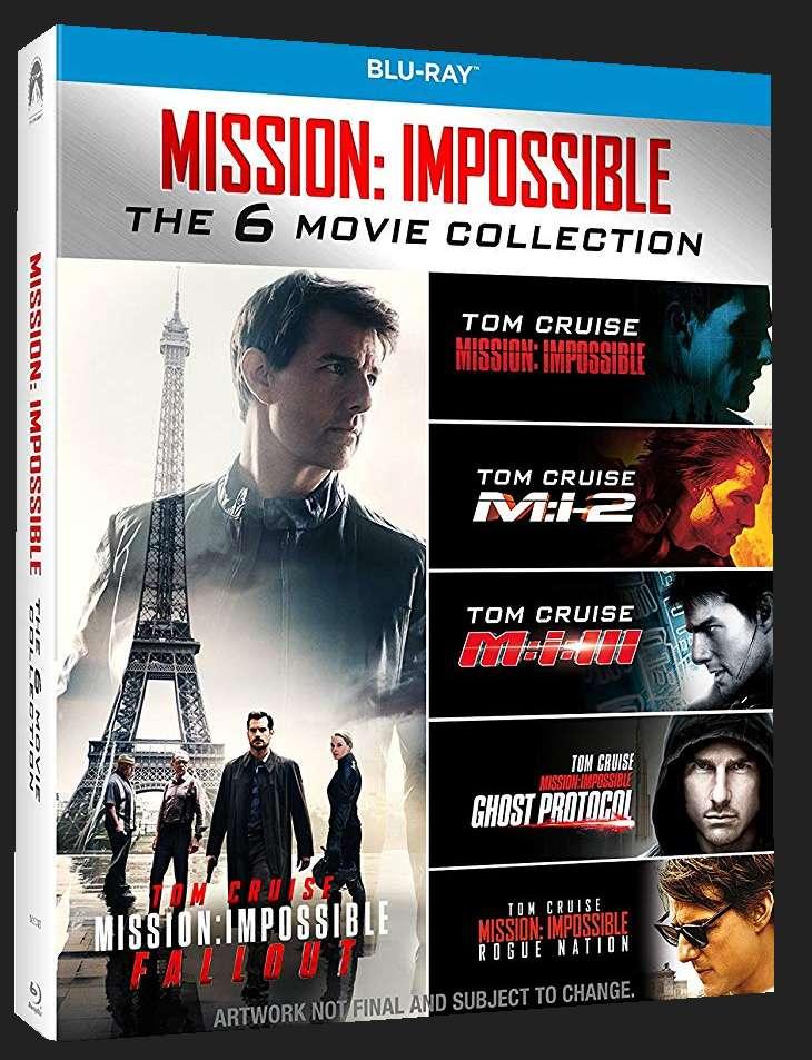 MISSION: IMPOSSIBLE 1-6 KOLEKCE (6 BD) - Blu-ray